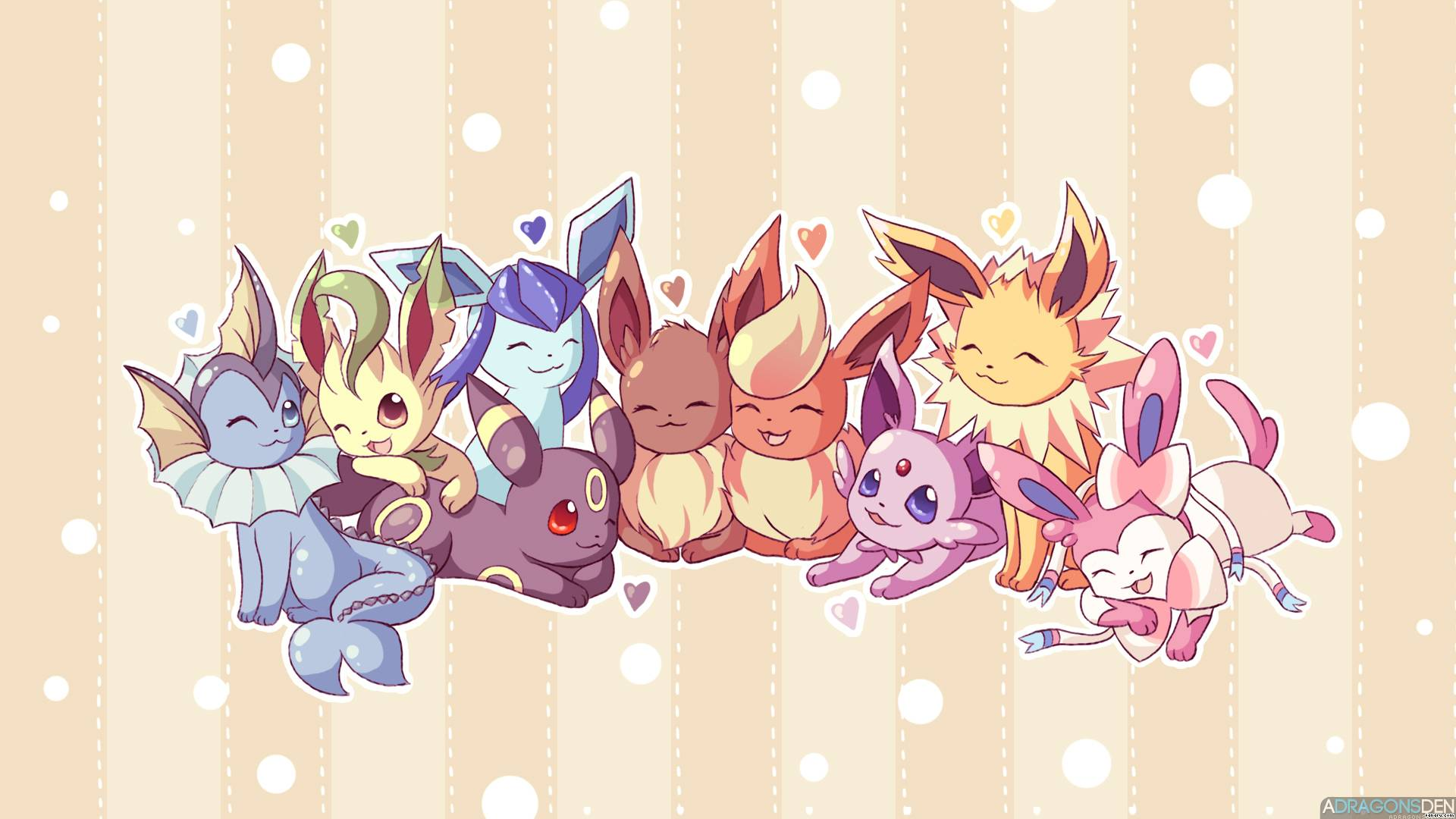 eeveelutions chibi wallpaper - photo #30