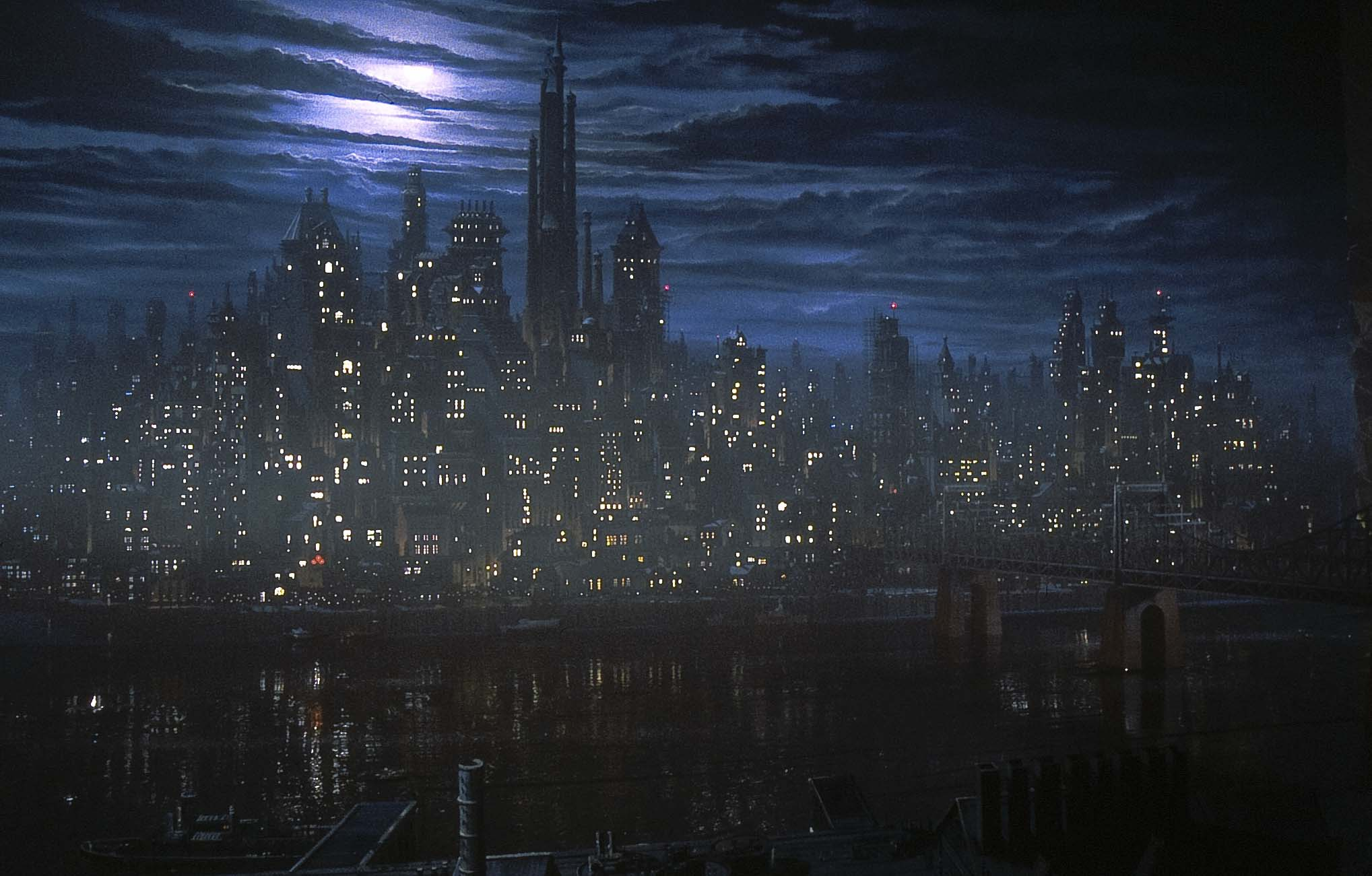 Gotham City (Burton Films) - Batman Wiki