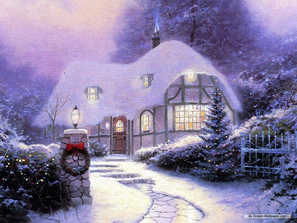 wallpapers noel paysage christmas - photo #21
