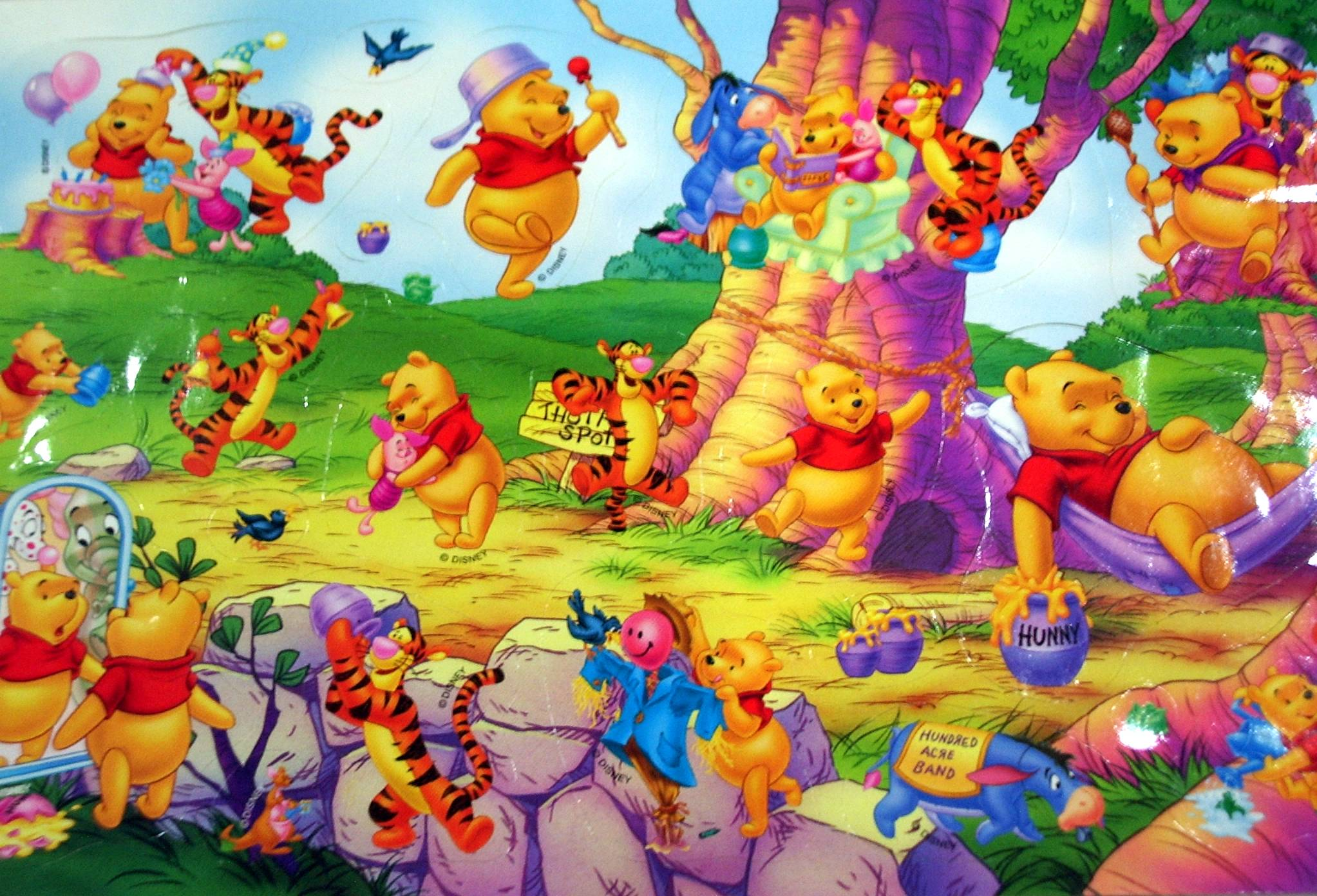 winnie the pooh wallpapers wallpaper cave. Black Bedroom Furniture Sets. Home Design Ideas