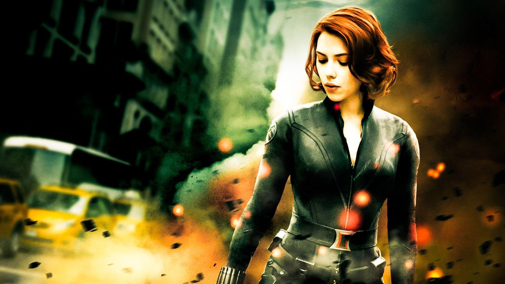 Avengers Scarlett Johansson Black Widow