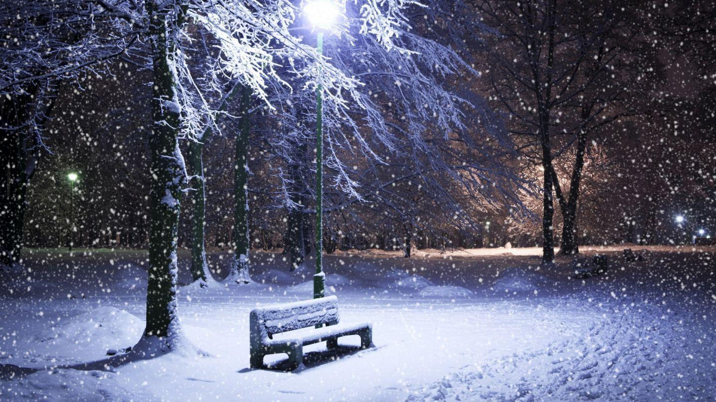 Related Pictures Snow Storm Park Bench Wallpapers Snow Storm Park ...