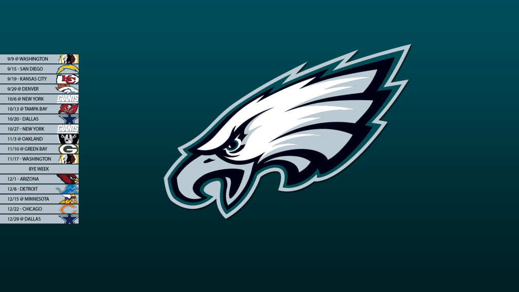 Philadelphia Eagles 2013 Schedule Wallpapers by SevenwithaT on