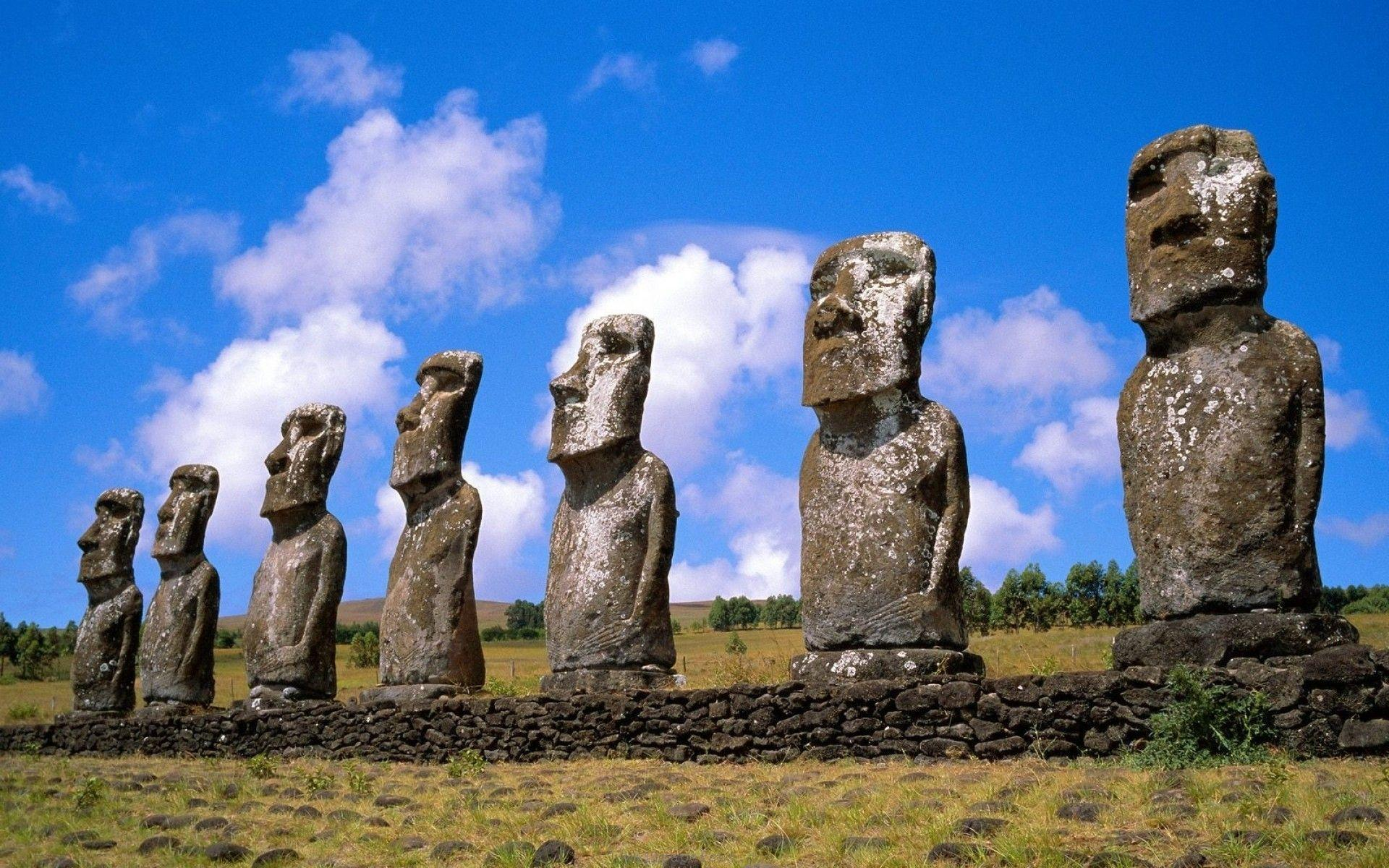 Easter Island Wallpapers Wallpaper Cave