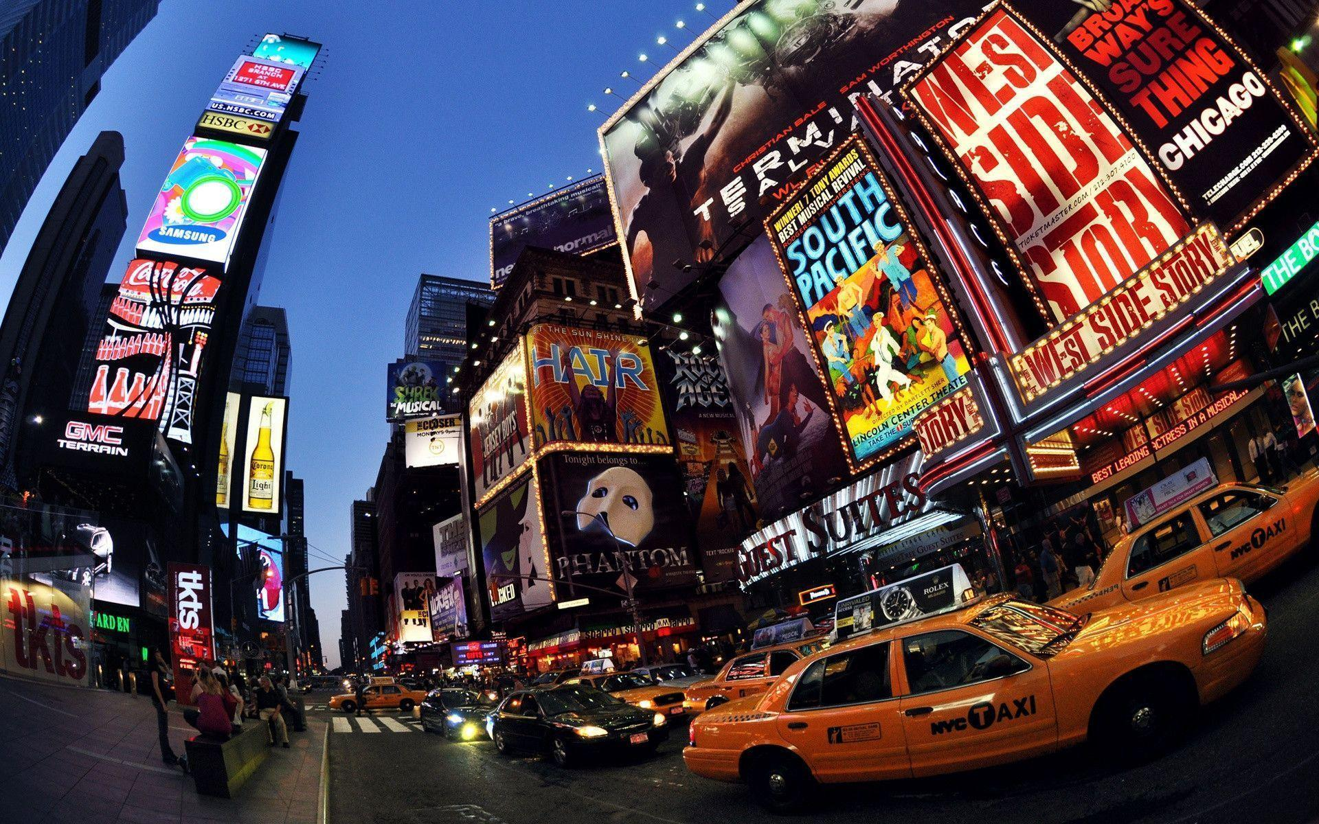 Time Square New York wallpaper - 756074