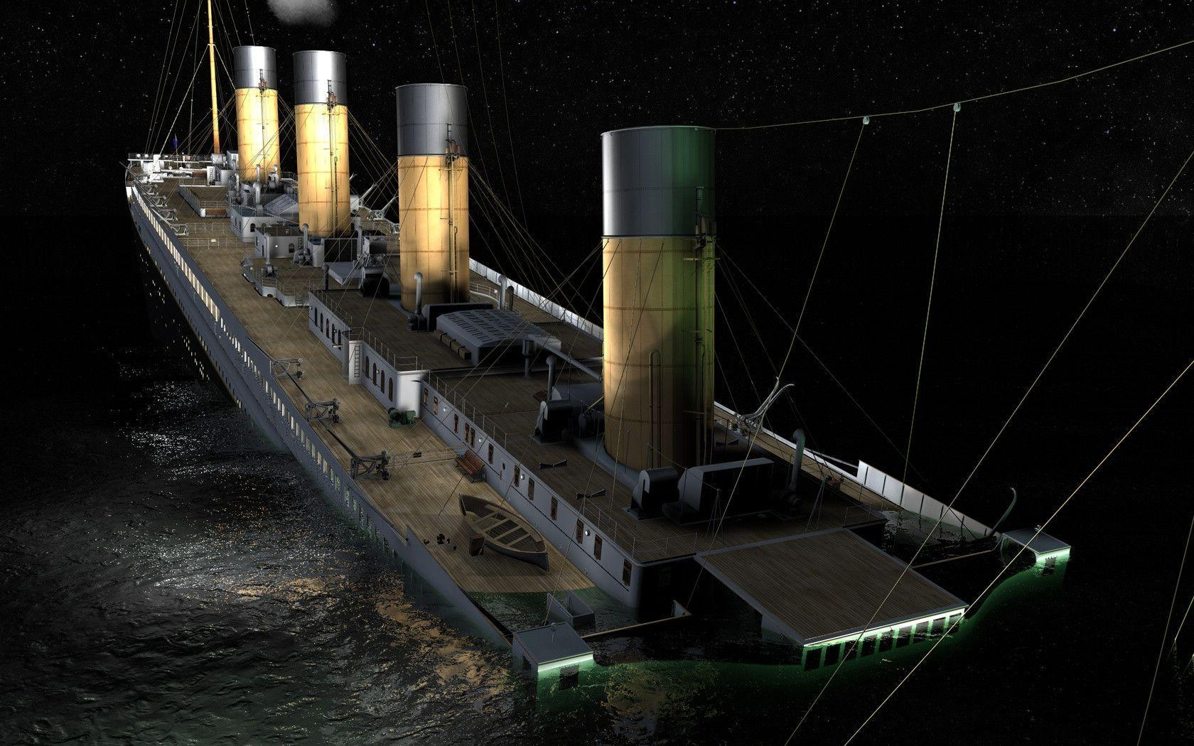 Renders of sinking Titanic image - Mod DB