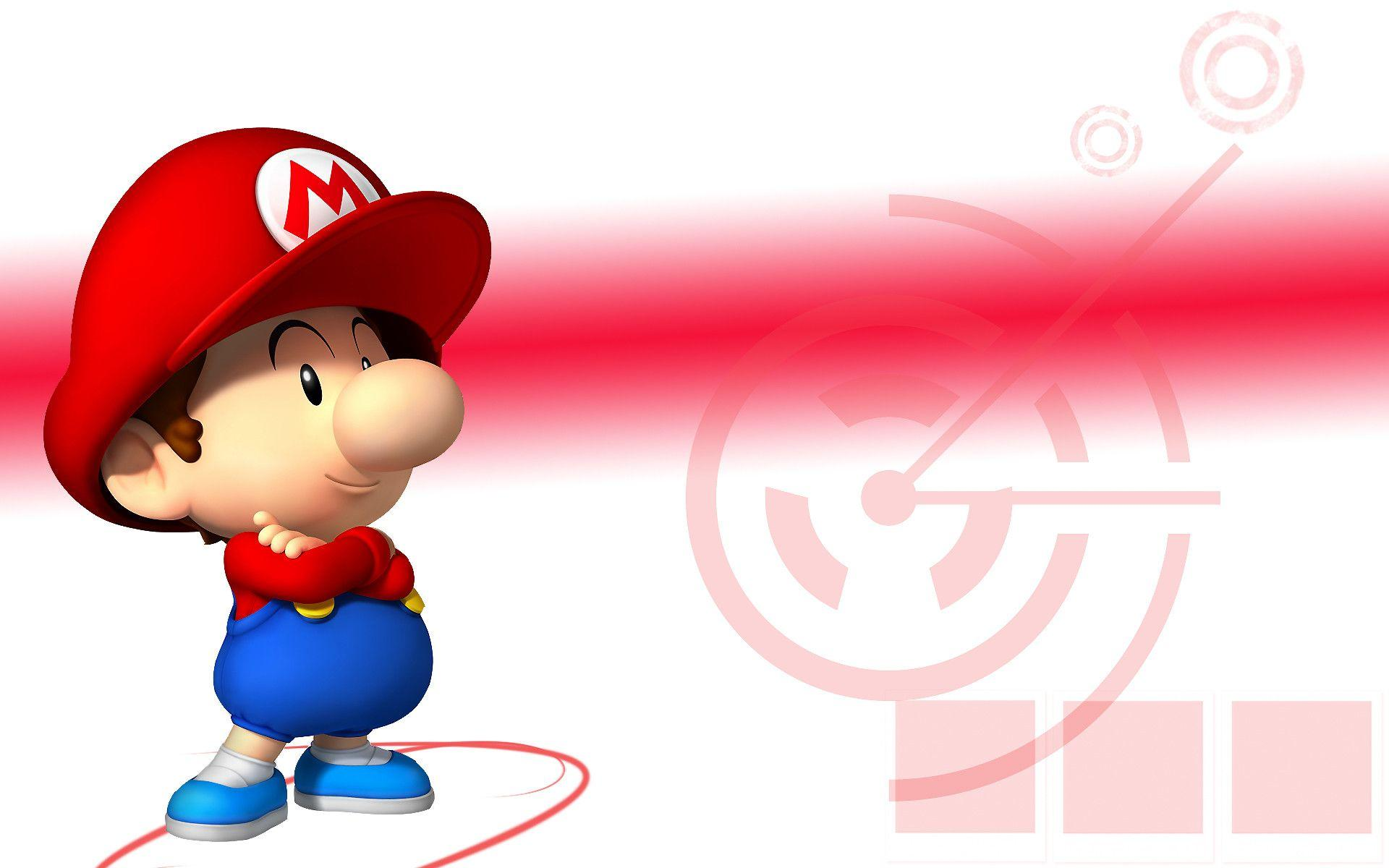 DeviantArt: More Like Baby Mario Wallpaper by linkintek06