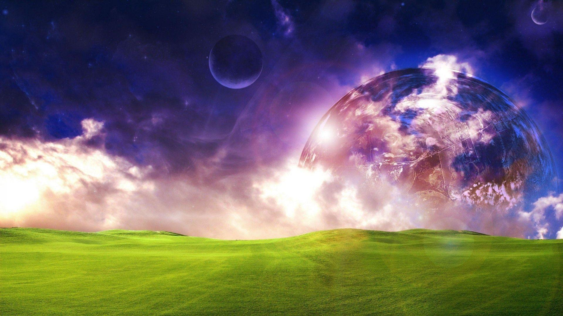 Fantasy land wallpapers image widescreen backgrounds demonew