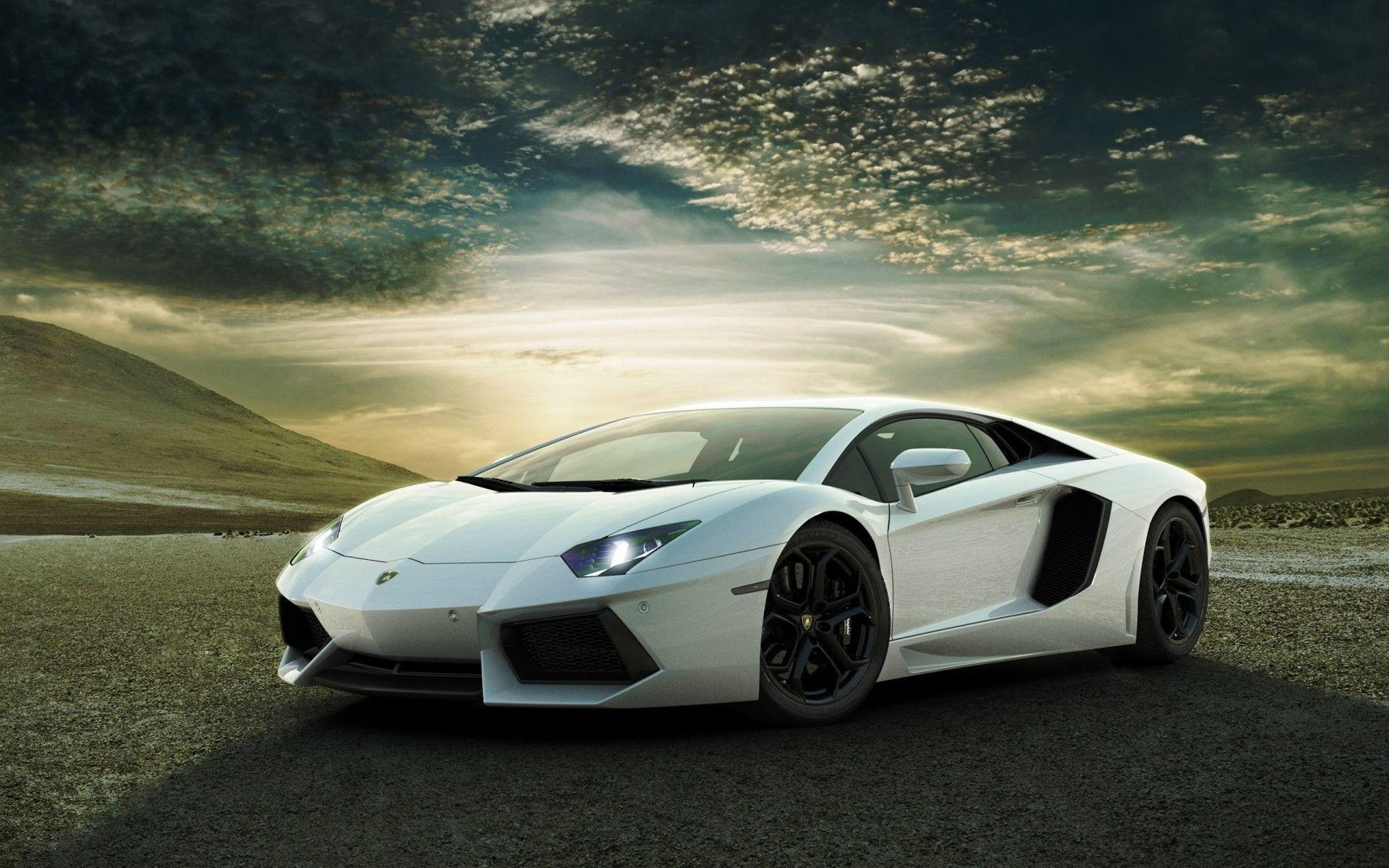 White Lamborghini Background in Cars - Wugange.