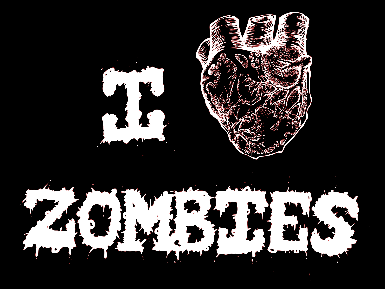 zombie wallpaper HD, scary and horror scenery ~ Scary Wallpapers