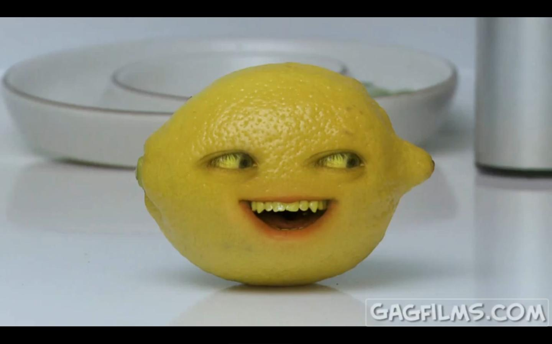 annoying orange grandpa lemon - photo #16