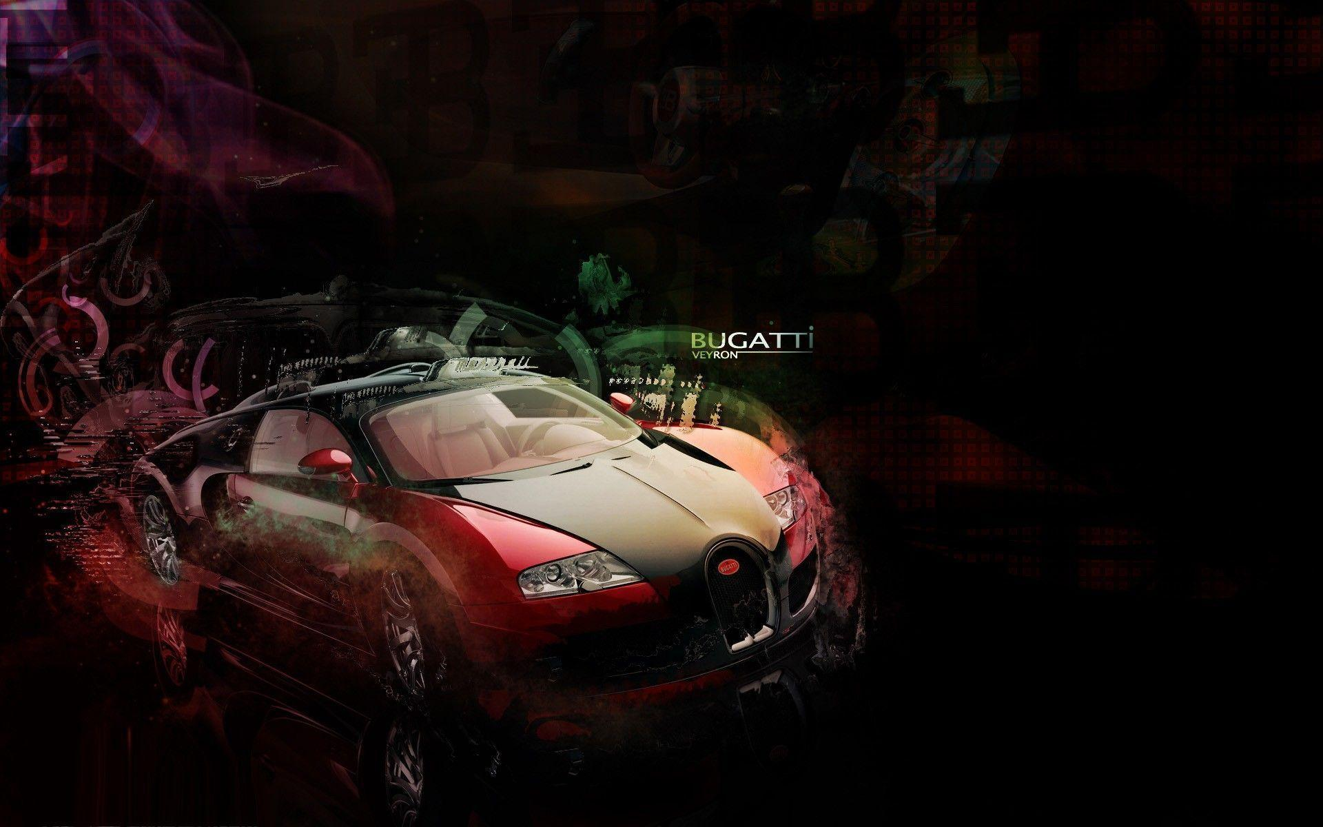 Bugatti Veyron Supercar Red Exclusive HD Wallpapers