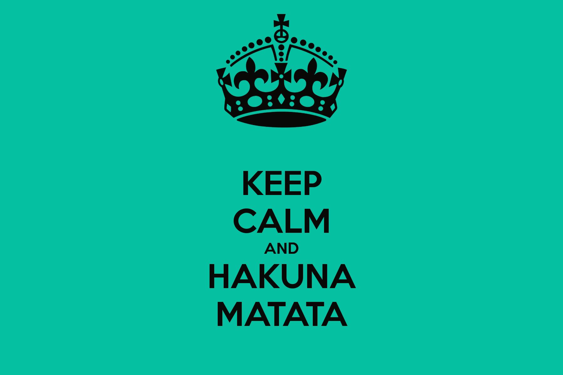 Hakuna Matata Wallpapers - Wallpaper Cave