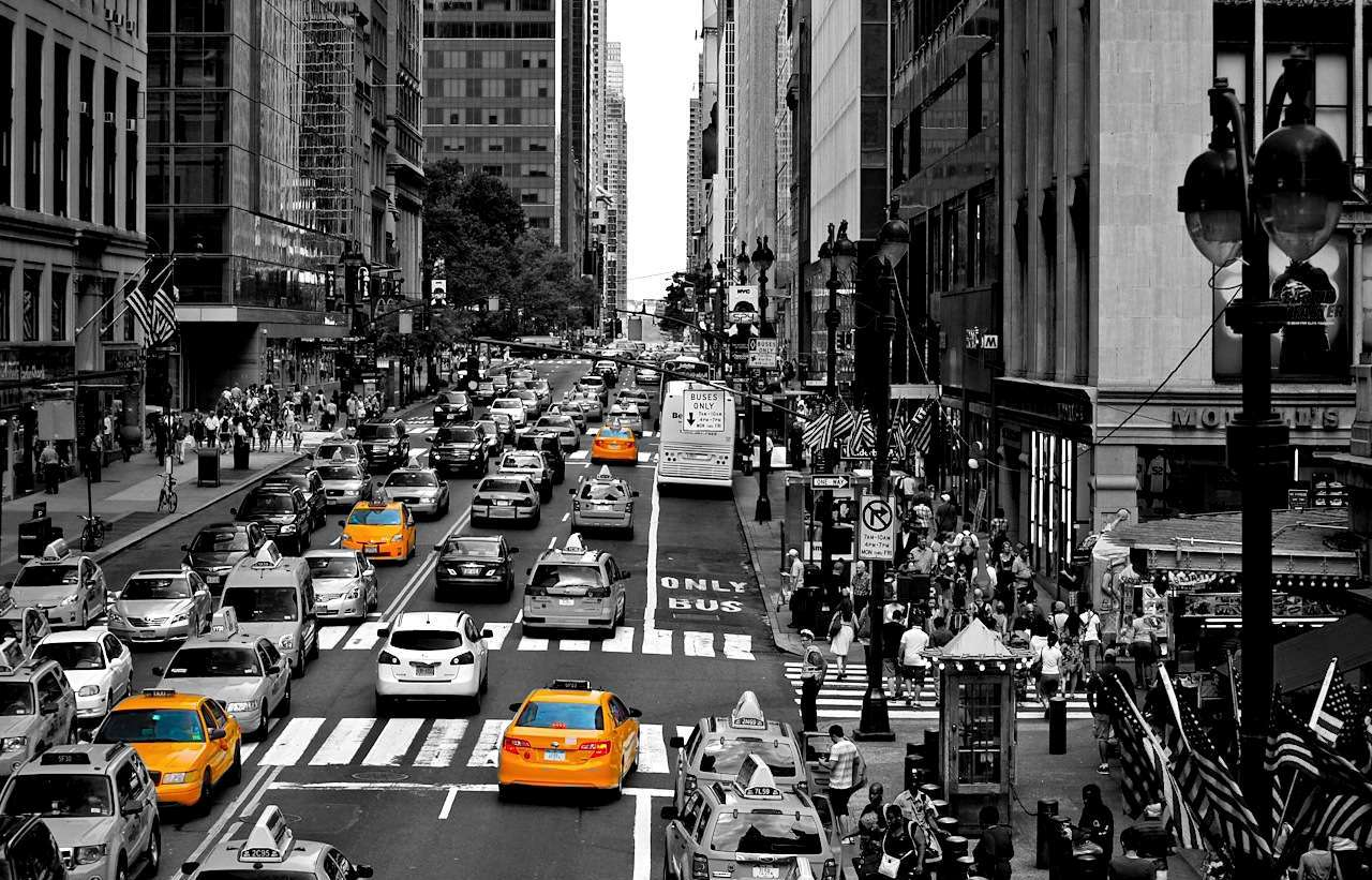 how to make blur streets city photograph