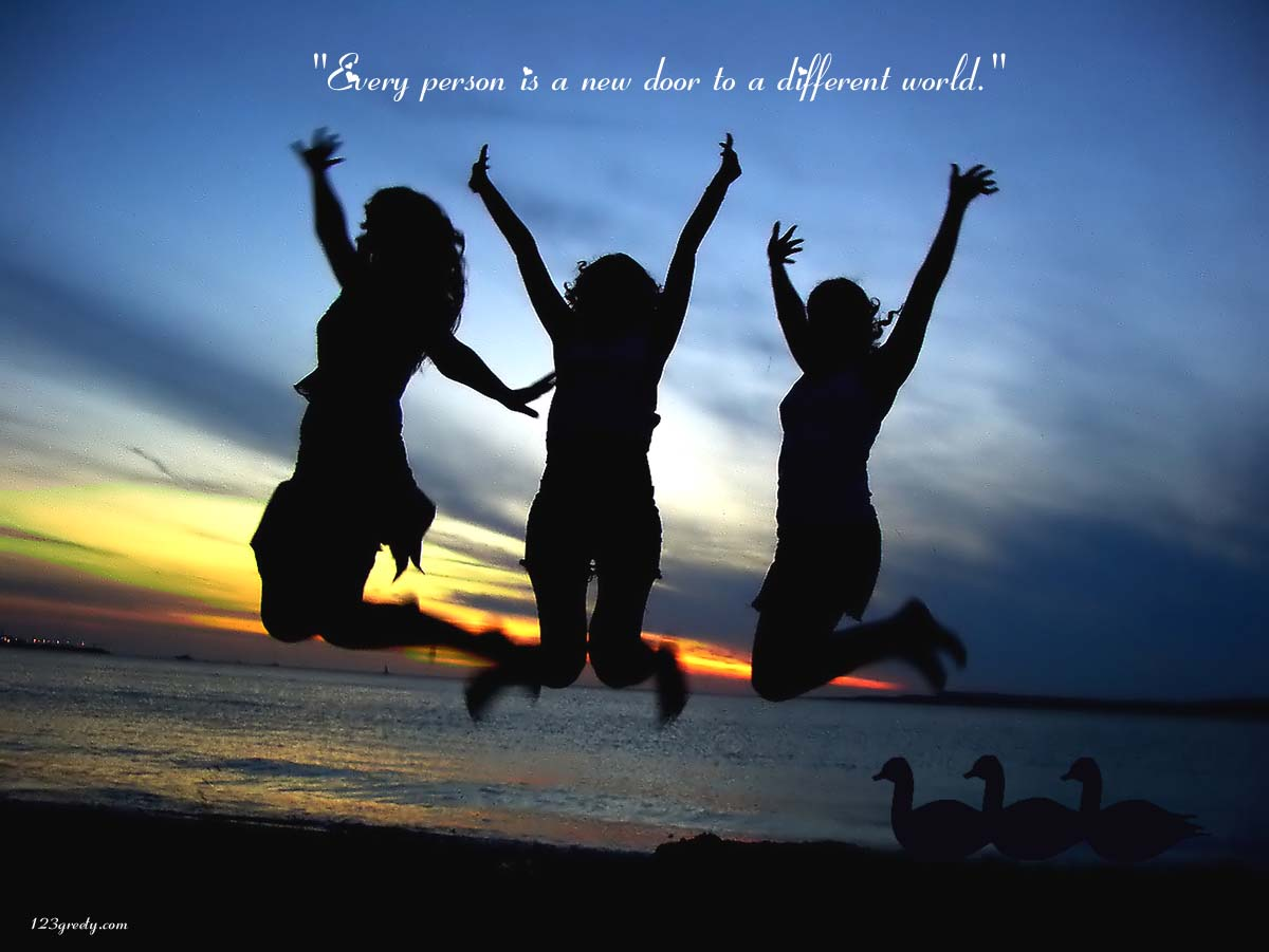 Wallpapers For Friendship With Quotes Facebook Download