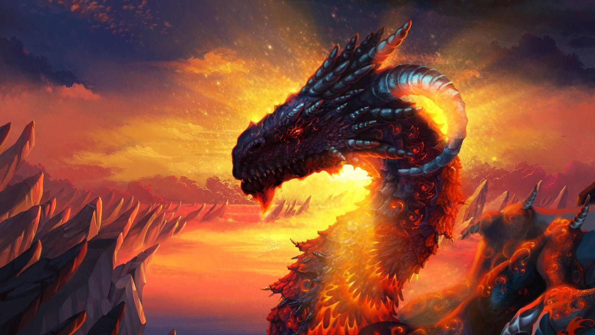 Fantasy Dragon Wallpapers Wallpaper Cave
