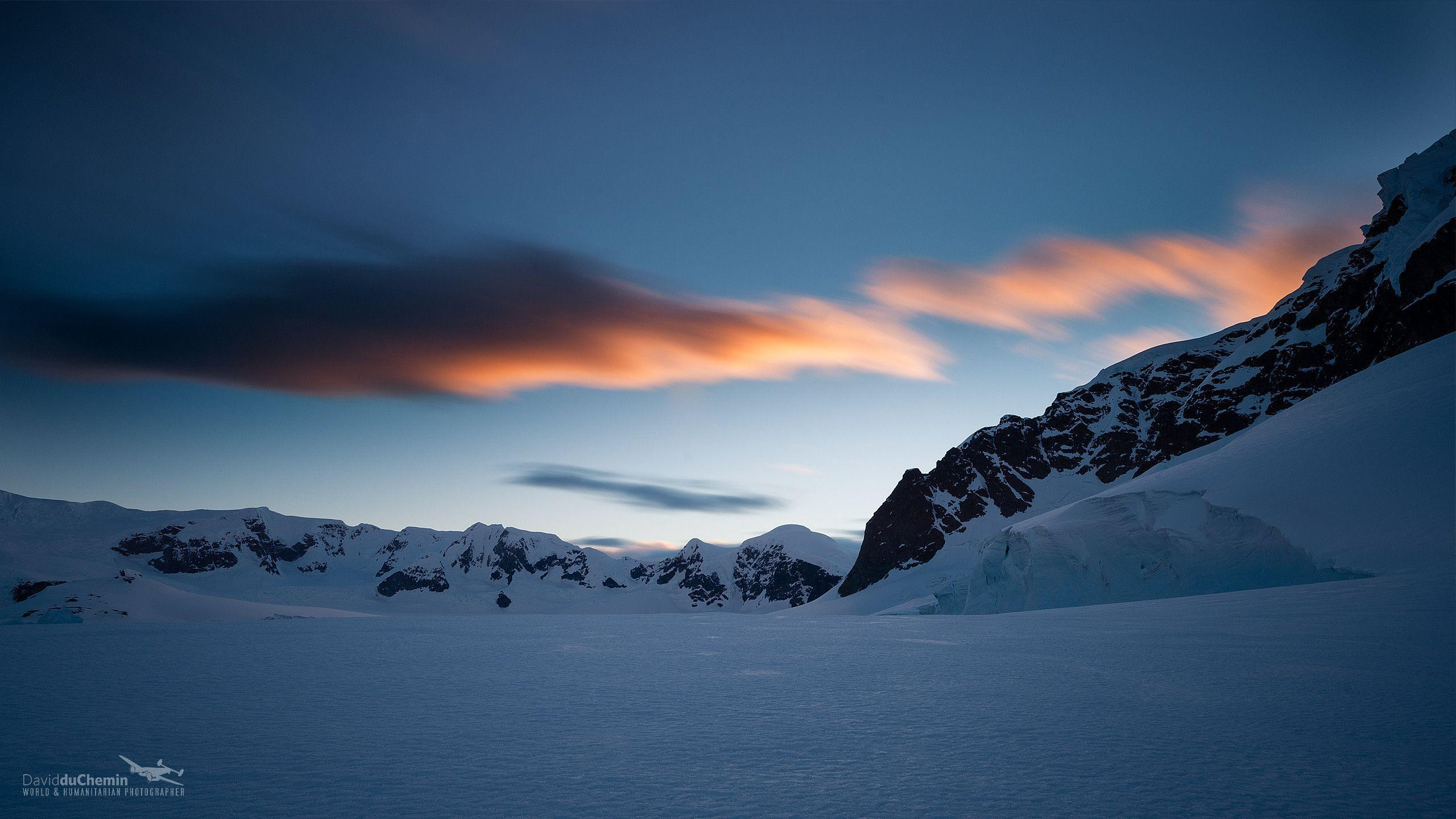 antarctica and clouds wallpaper - photo #11