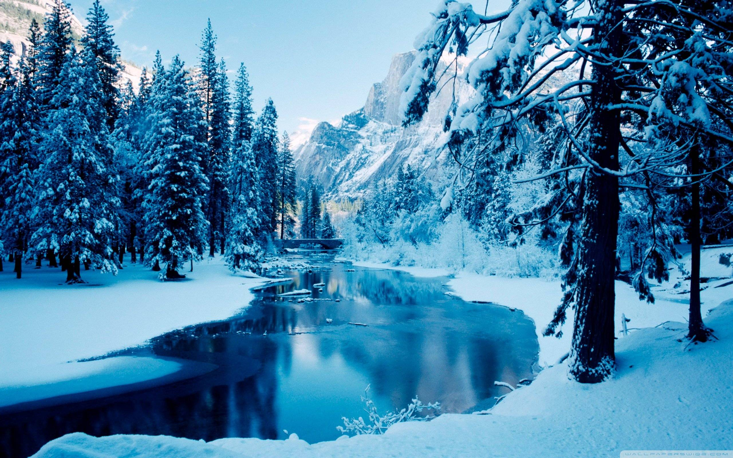 winter landscapes wallpapers - wallpaper cave