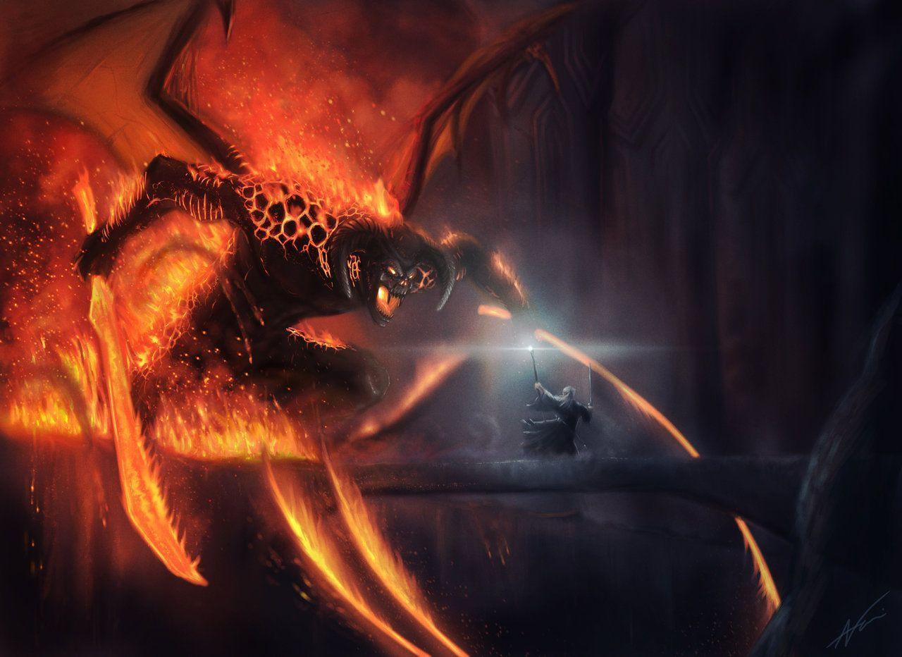 Balrog Music Lord Of The Rings