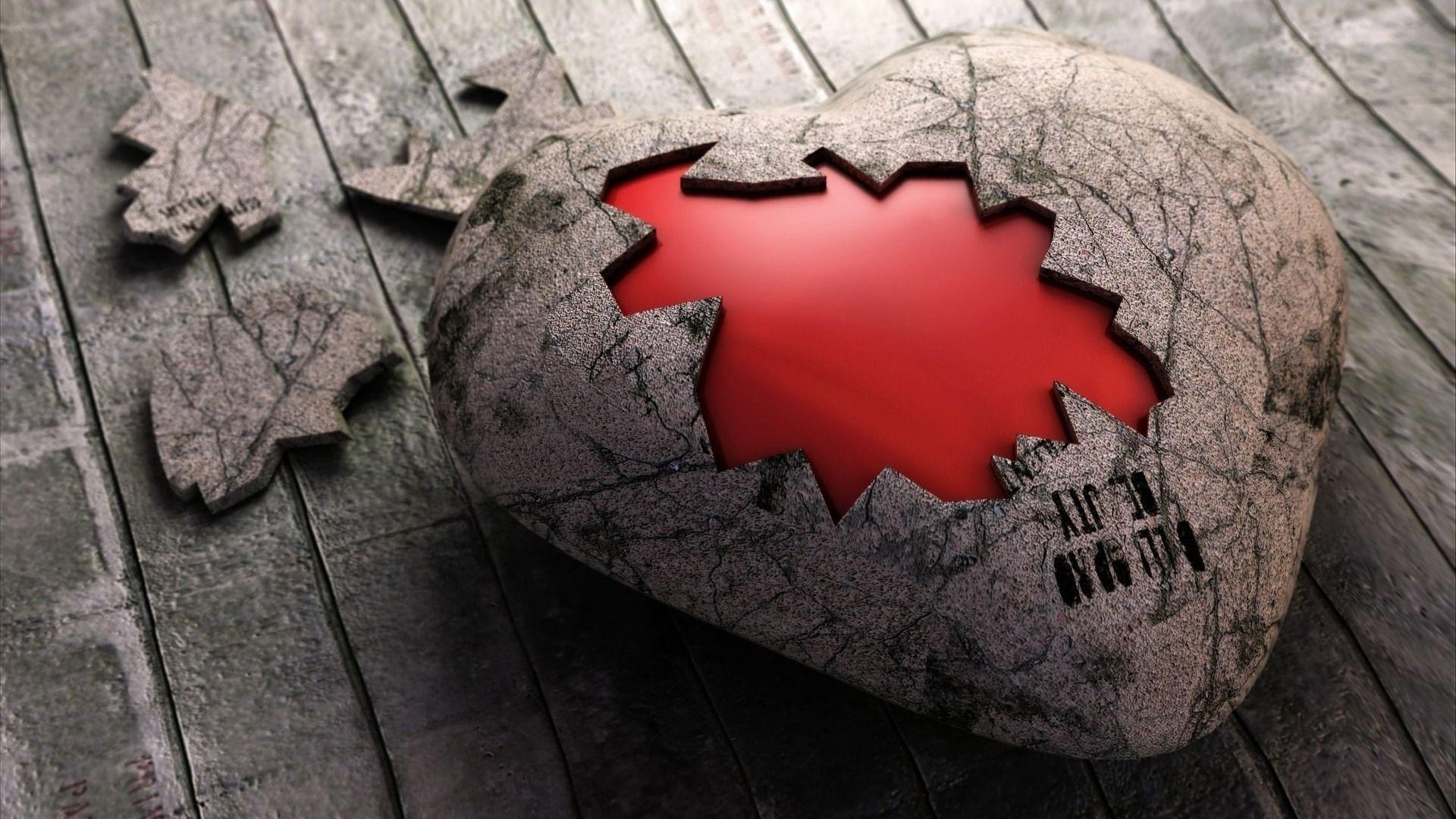 Broken Heart Wallpapers Wallpaper Cave