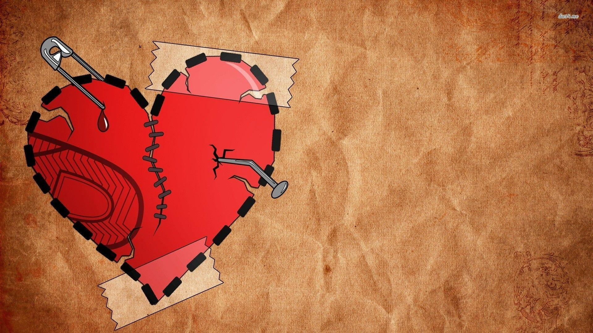 broken heart wallpapers wallpaper cave
