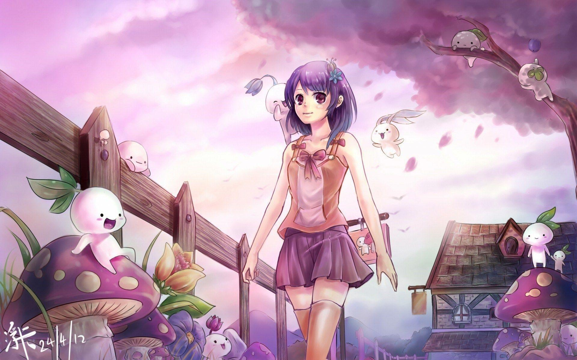 Cute Anime Hd Wallpapers