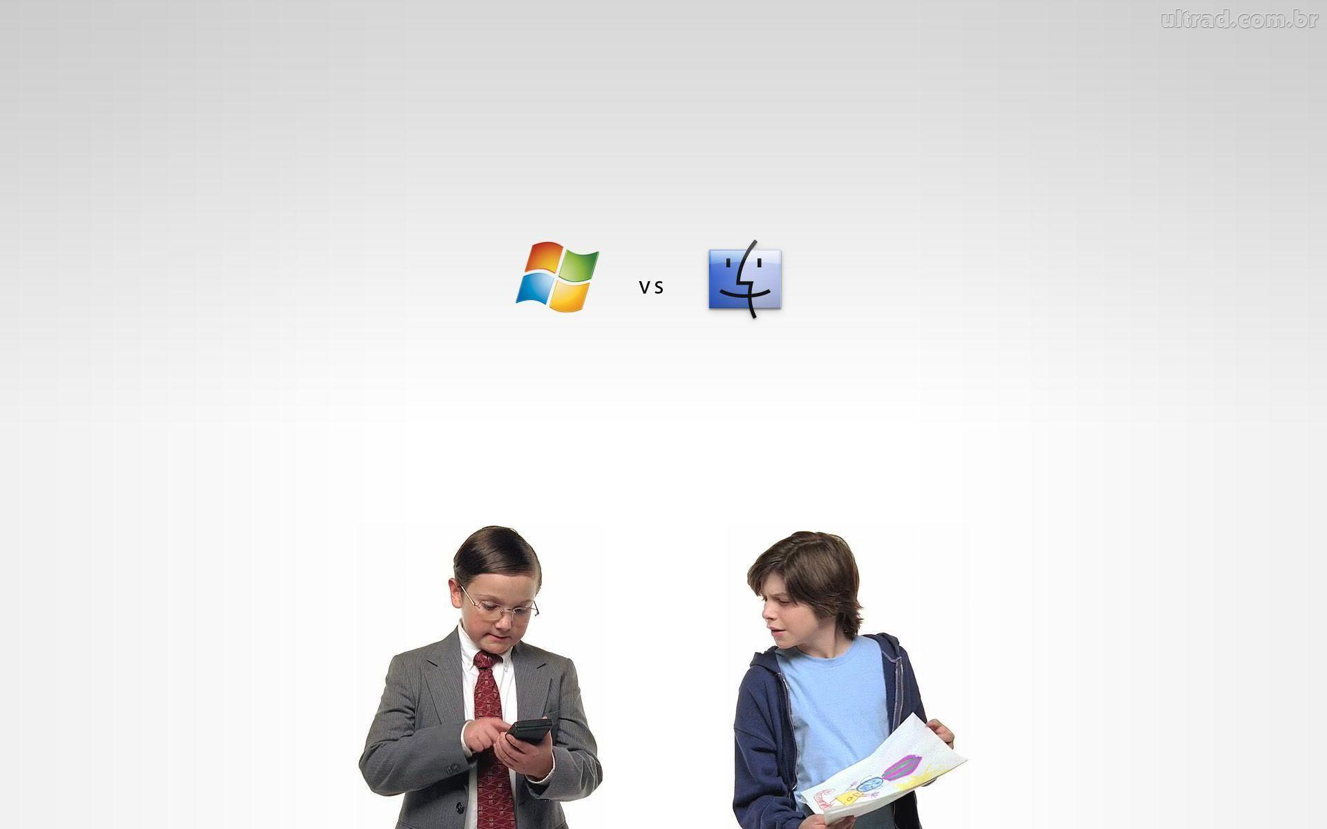 Image For > Mac Vs Windows Wallpapers