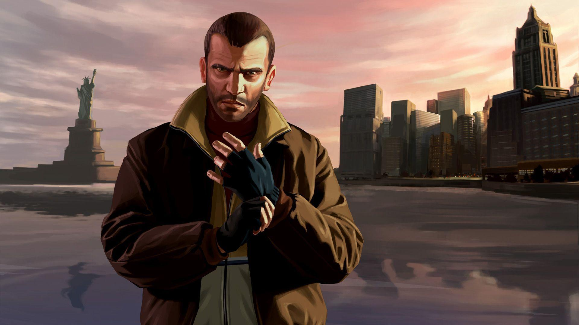 niko bellic wallpapers wallpaper cave