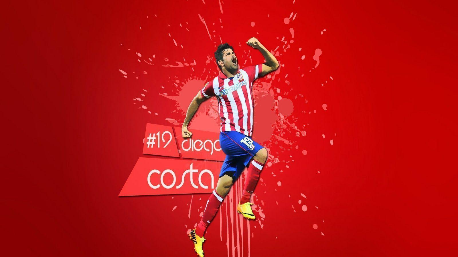 Diego Costa Atletico Madrid FC Wallpapers HQ 38 Wallpapers