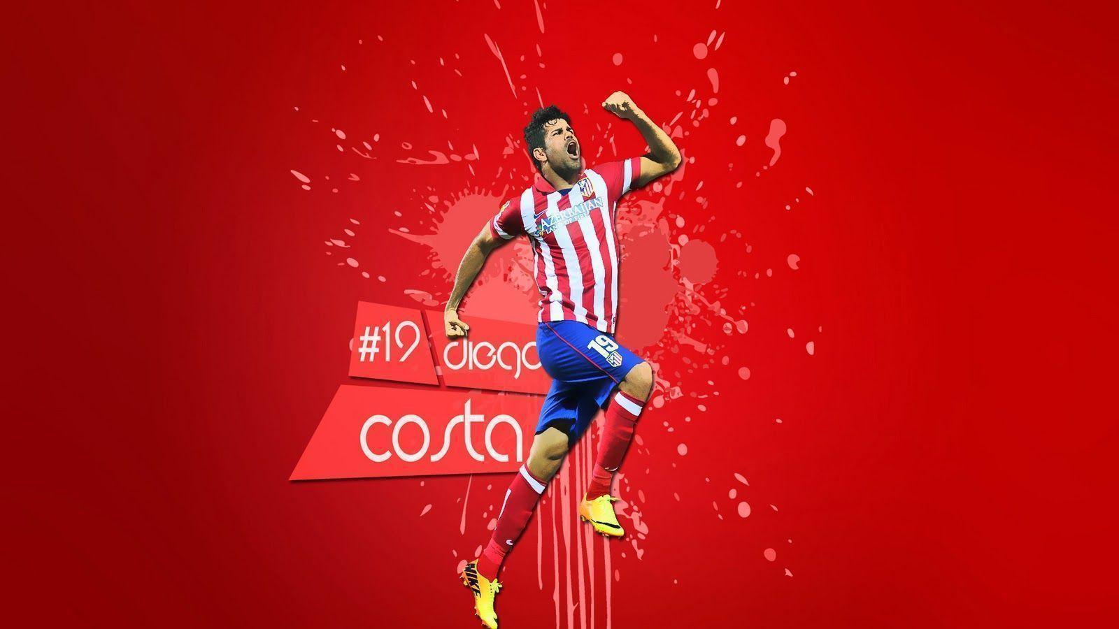 Diego Costa Atletico Madrid FC Wallpaper HQ 38 #1239 Wallpaper ...