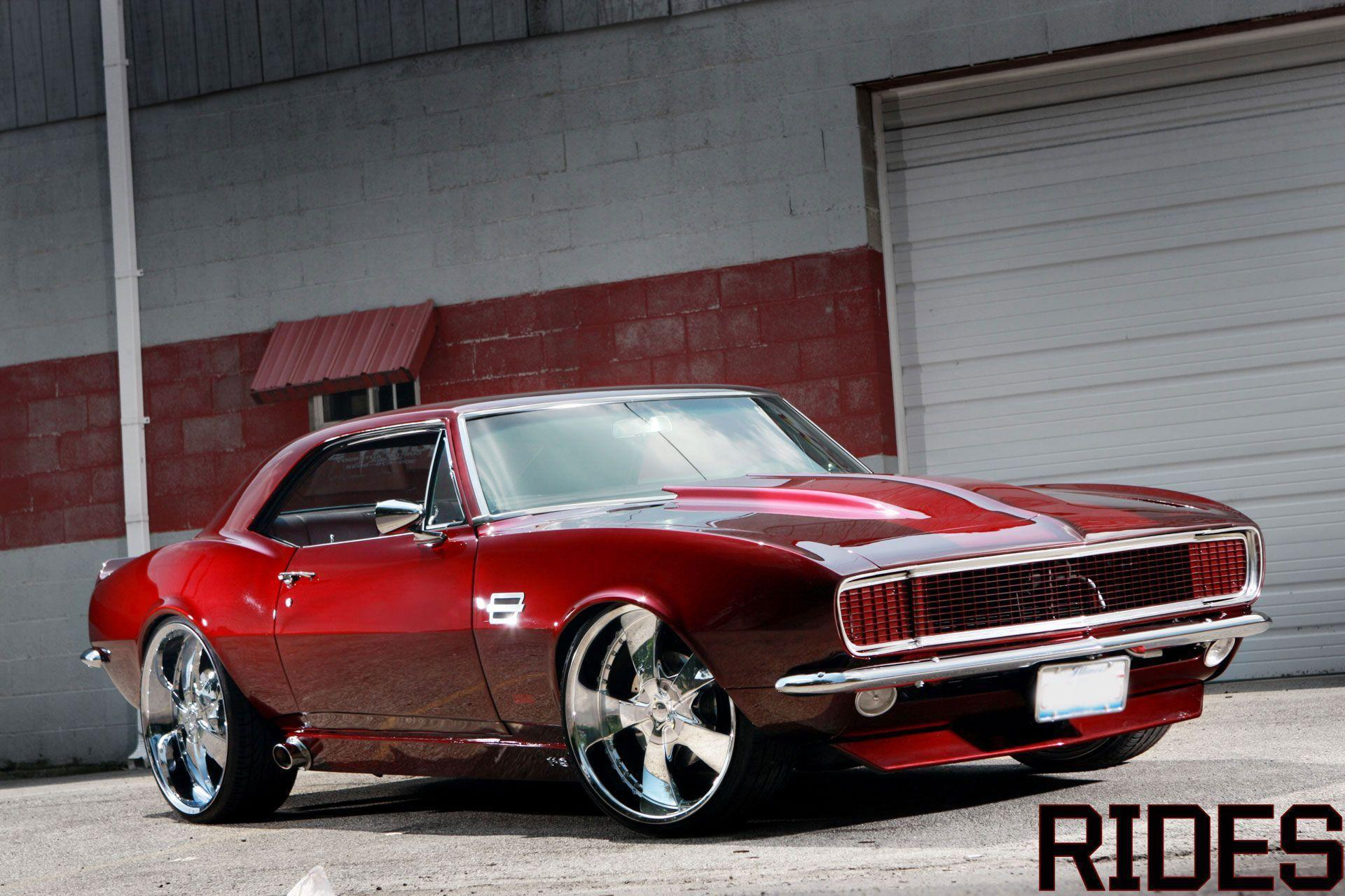 Muscle Cars Wallpapers High Resolution - 313.7KB