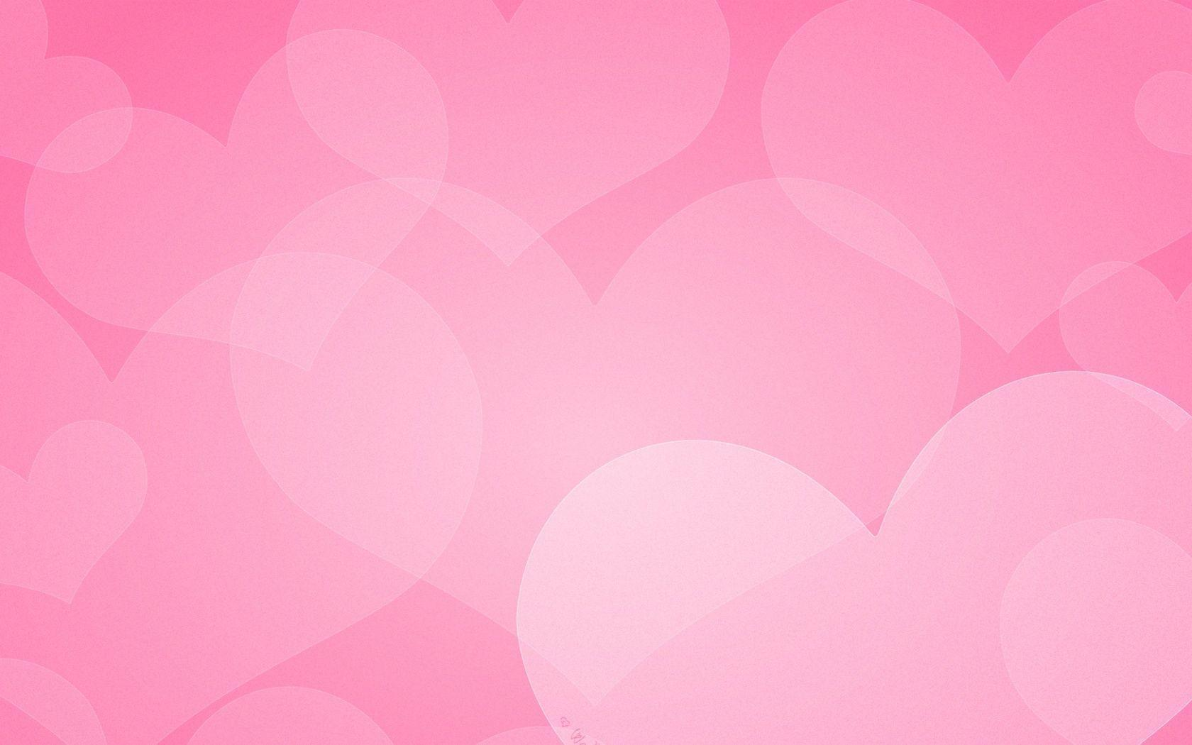 pink heart wallpaper