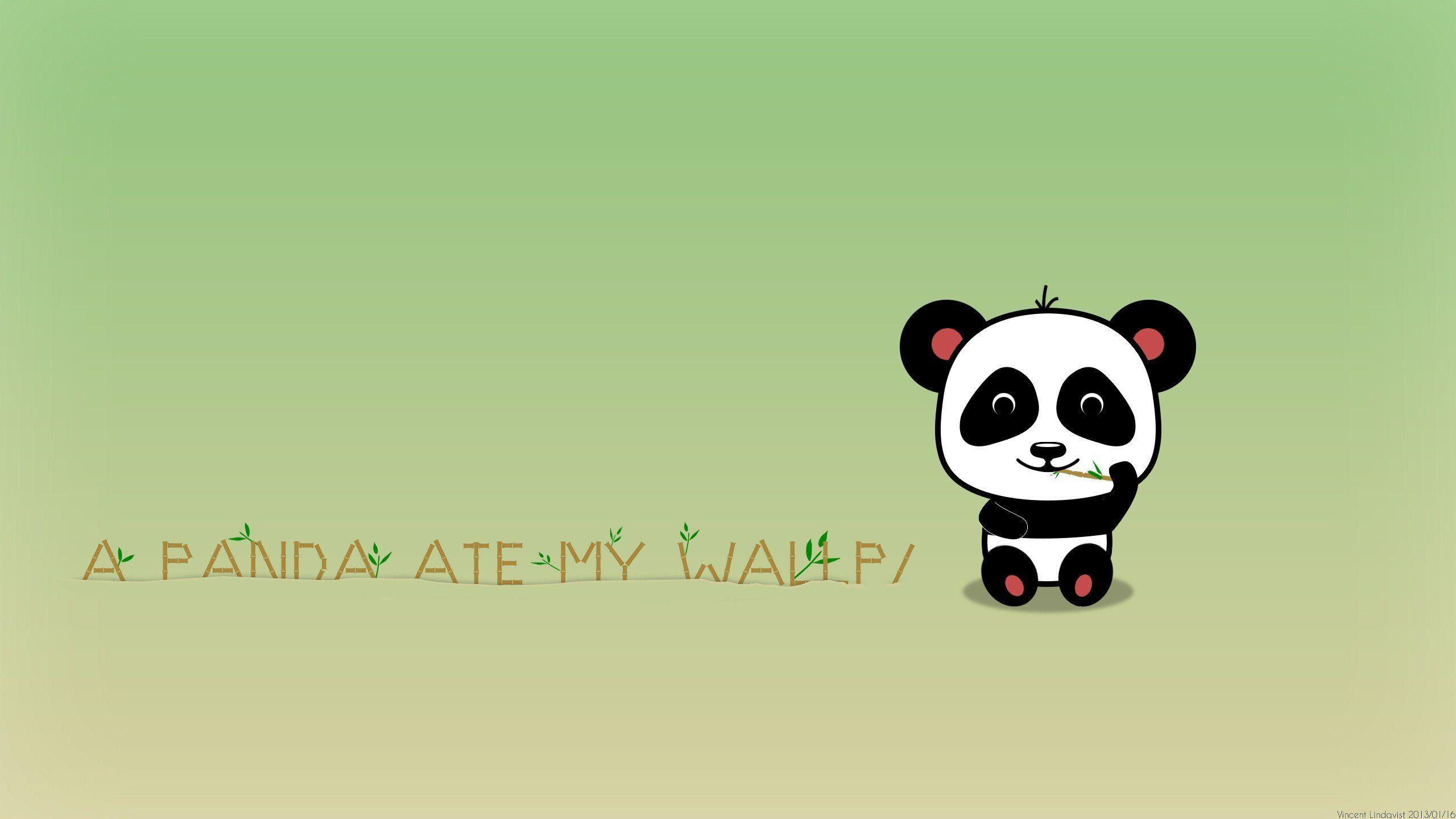 Cartoon Panda Wallpapers Wallpaper Cave