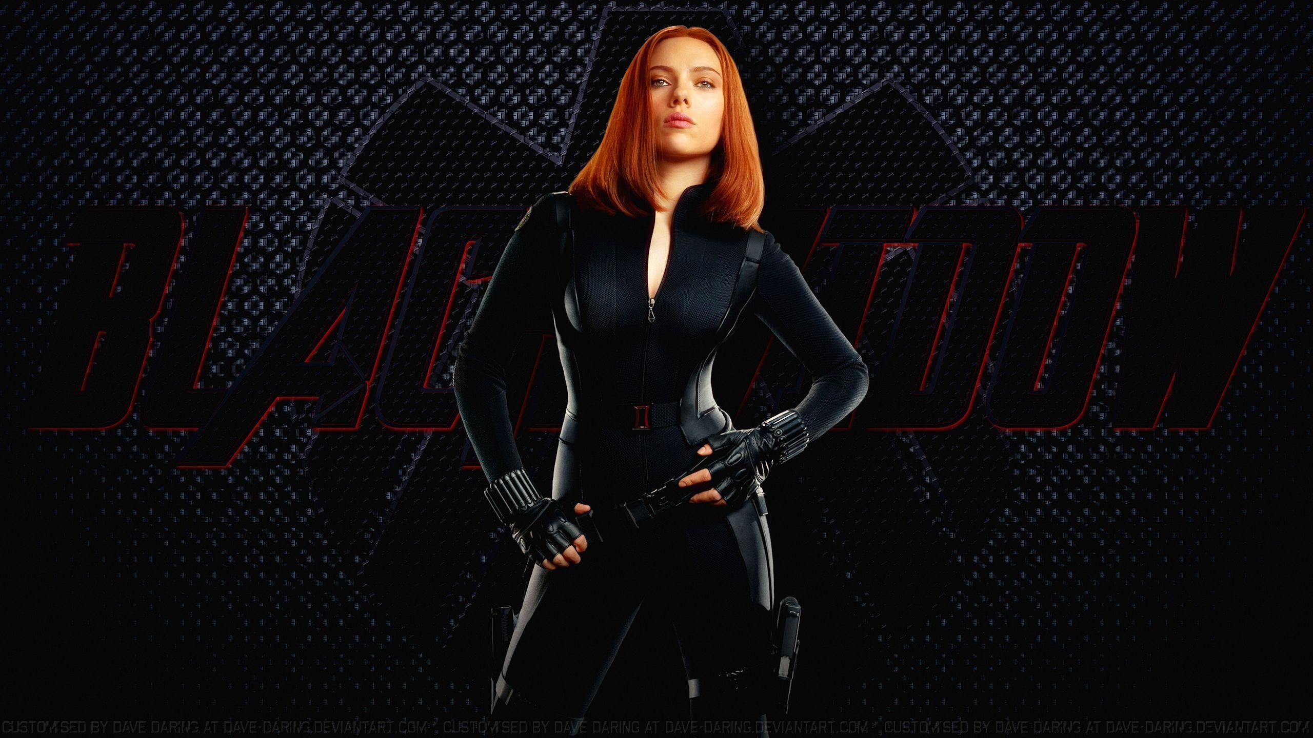 Scarlett johansson black widow wallpaper - photo#7