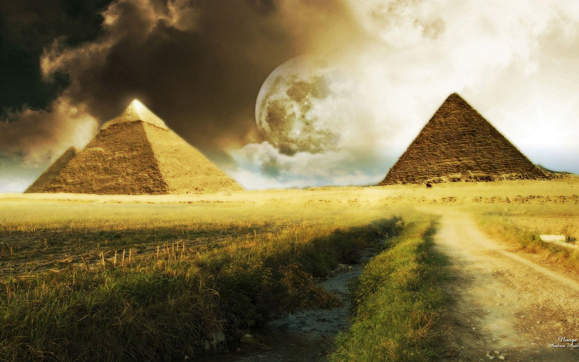 Egyptian Pyramids Wallpapers