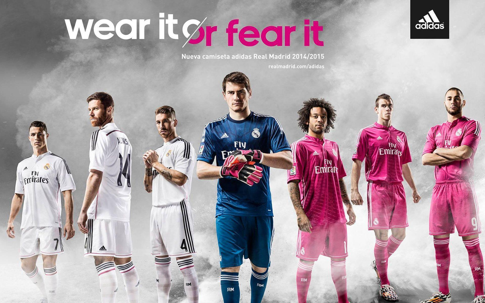 New Real Madrid Jersey Season 2014 2015 Wallpaper HD For Desktop