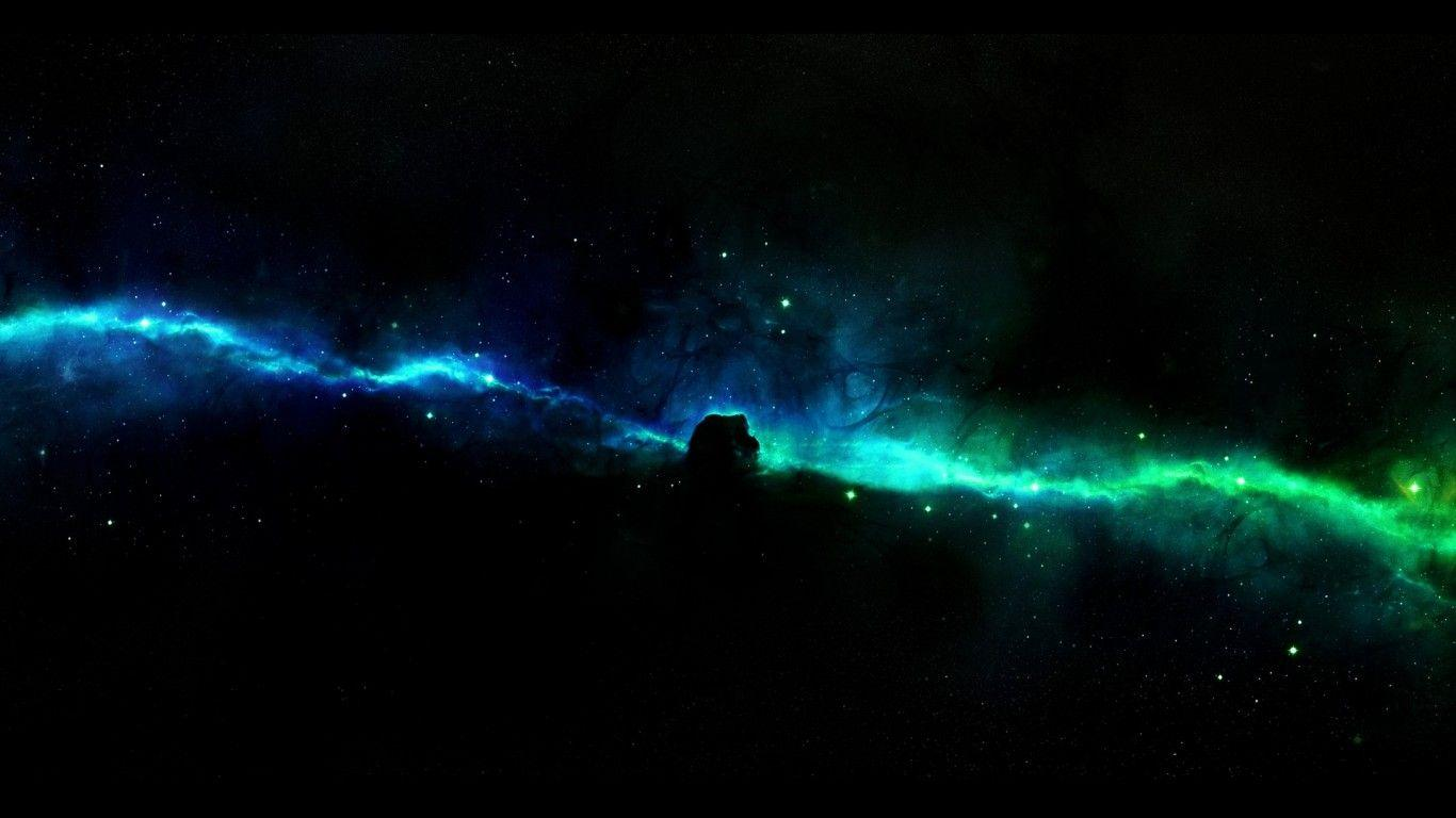 green high resolution nebula wallpaper - photo #4