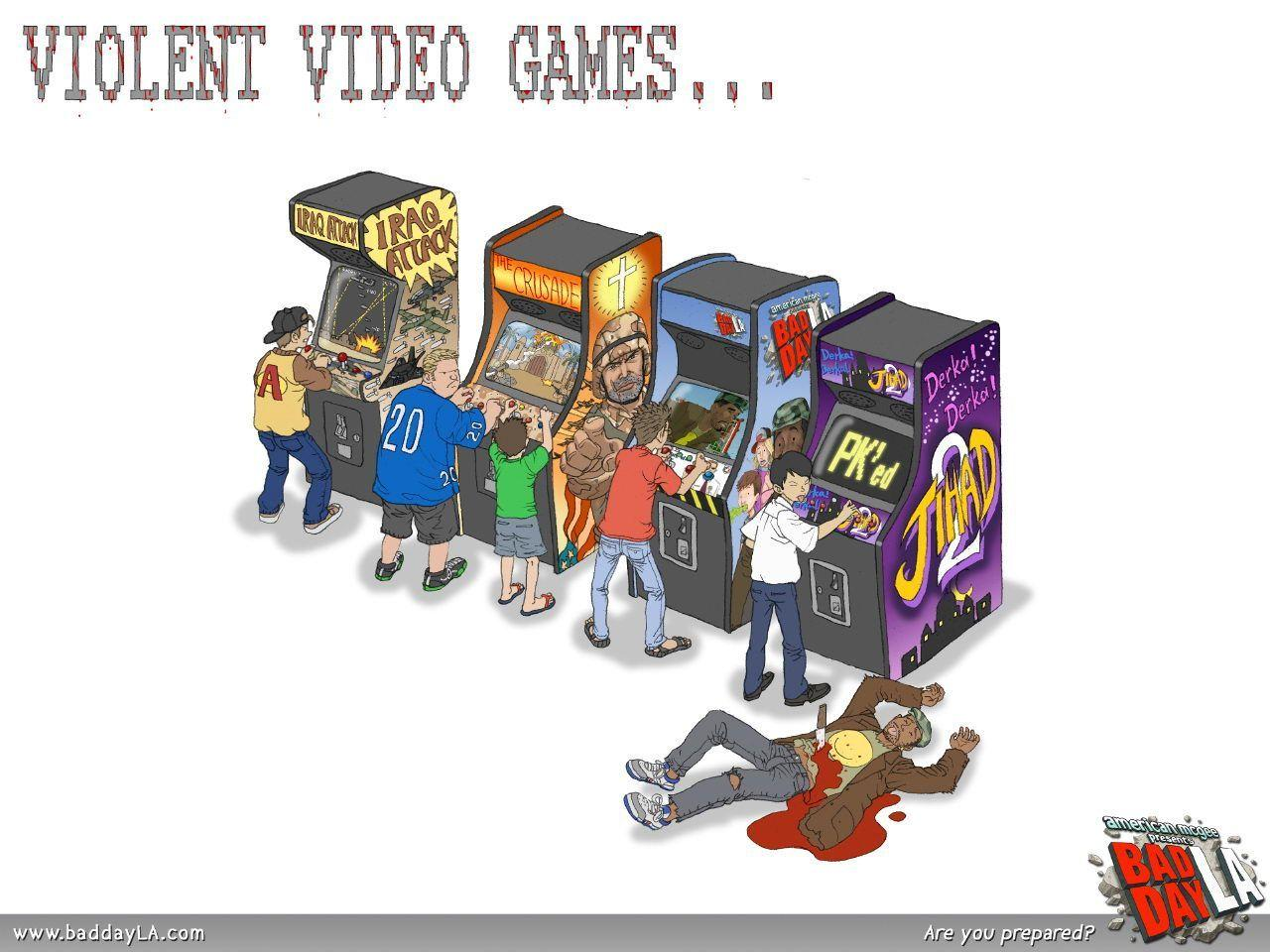 video games and violence 3 essay