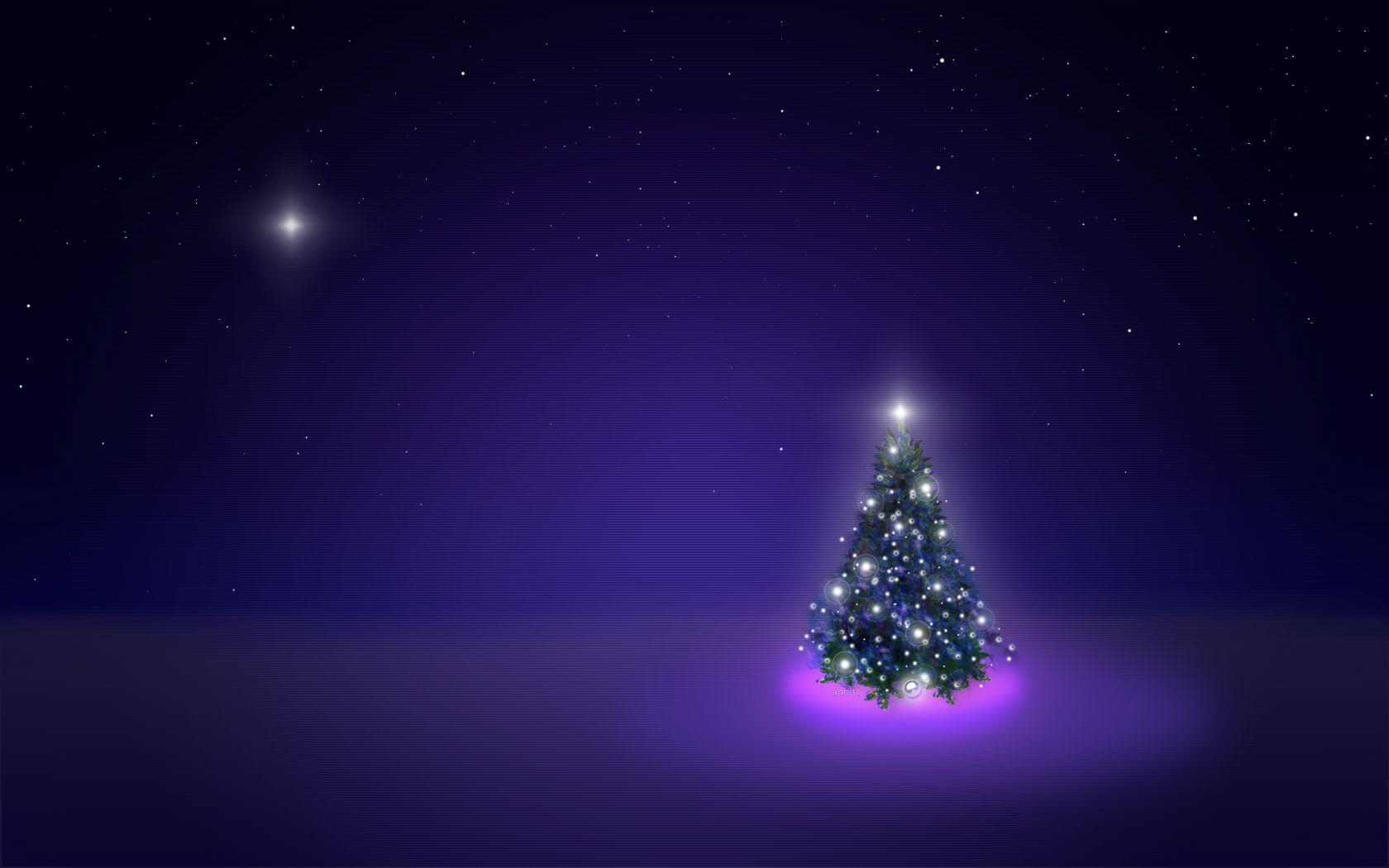 Christmas Night Wallpapers Wallpaper Cave