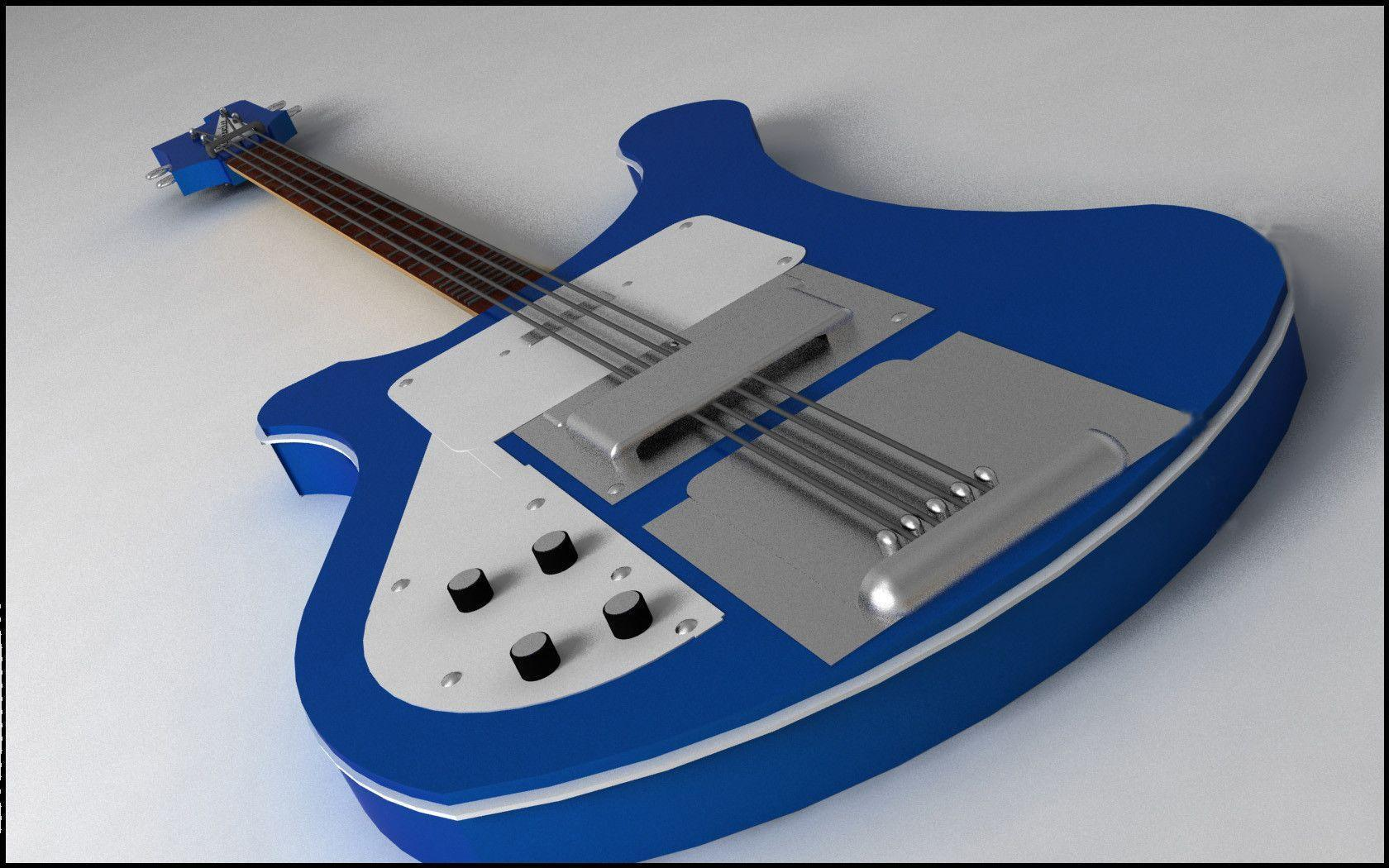 Wallpapers For > Rickenbacker Bass Guitar Wallpapers