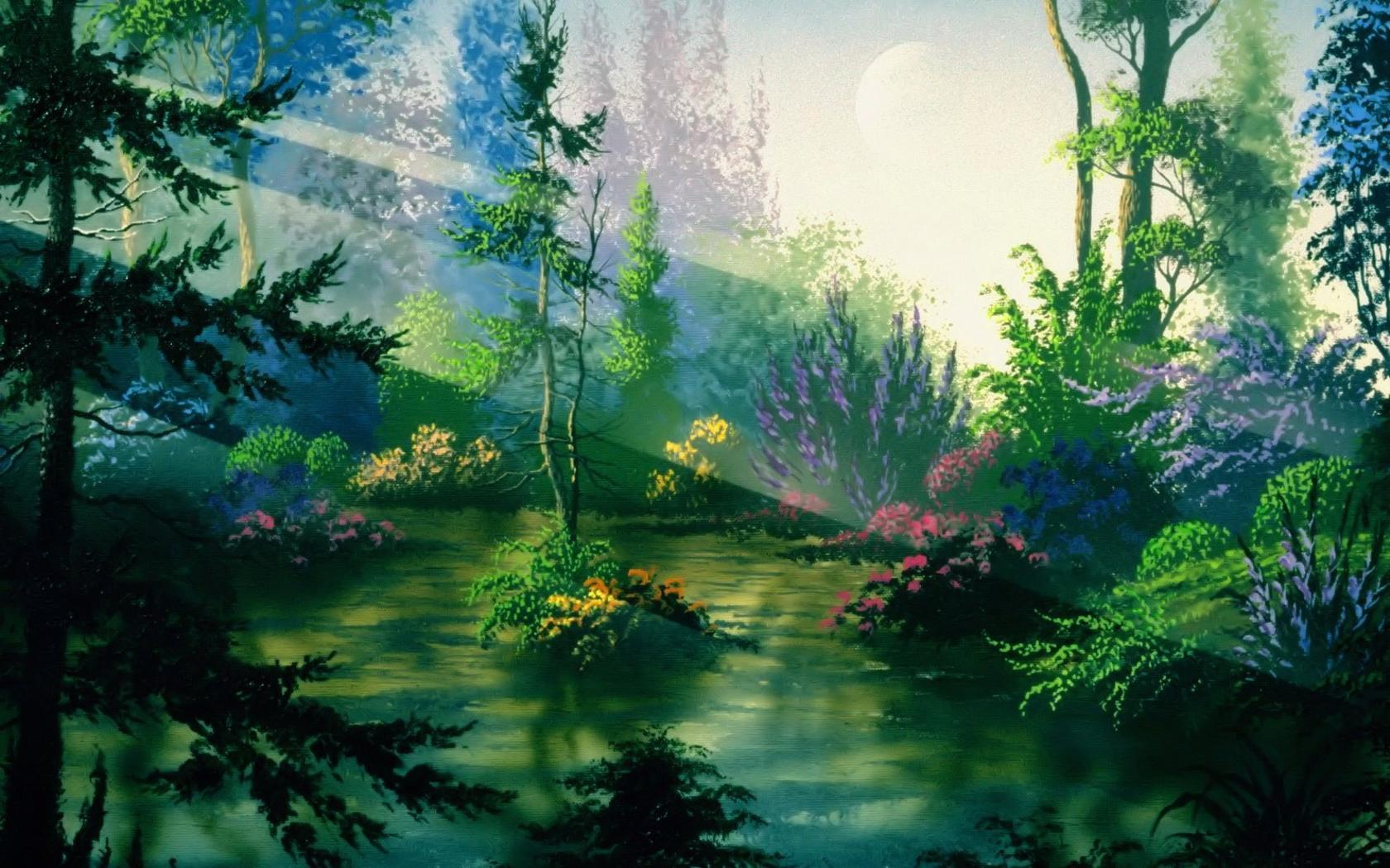 Fantasy nature wallpaper - photo#2