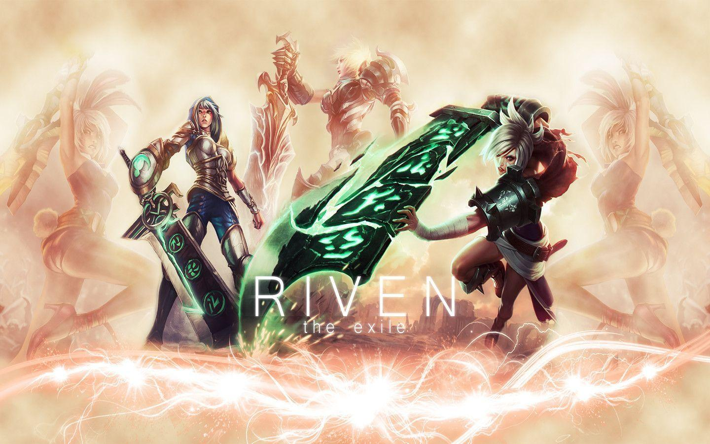 Riven Wallpaper 1920x1080 Leagueoflegends