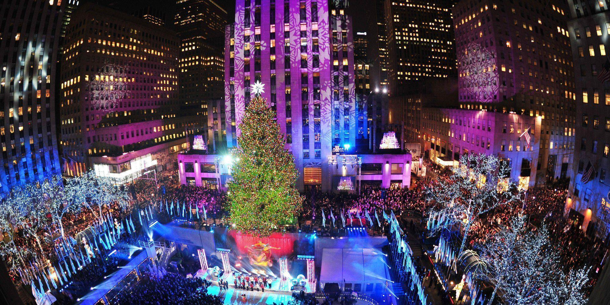 New york christmas wallpapers wallpaper cave for Best places to go in nyc at night