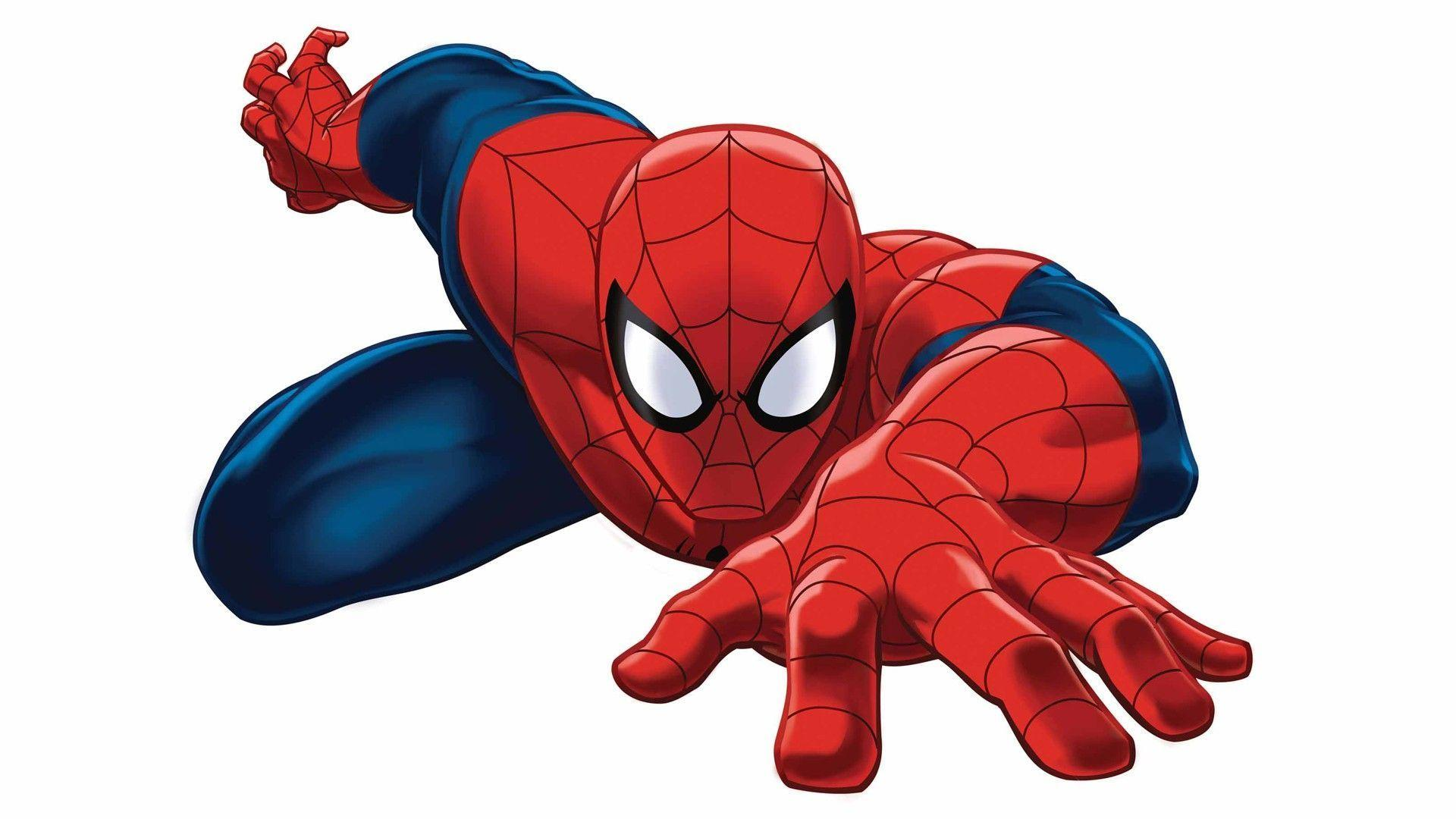Spiderman Cartoon Background Wallpaper Taborat