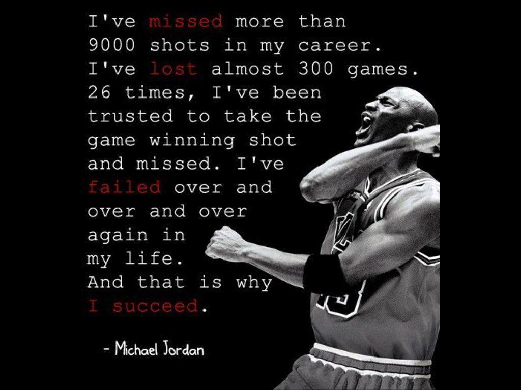 Michael Jordan Quote 274x300 Daily Motivation Motivational Quotes