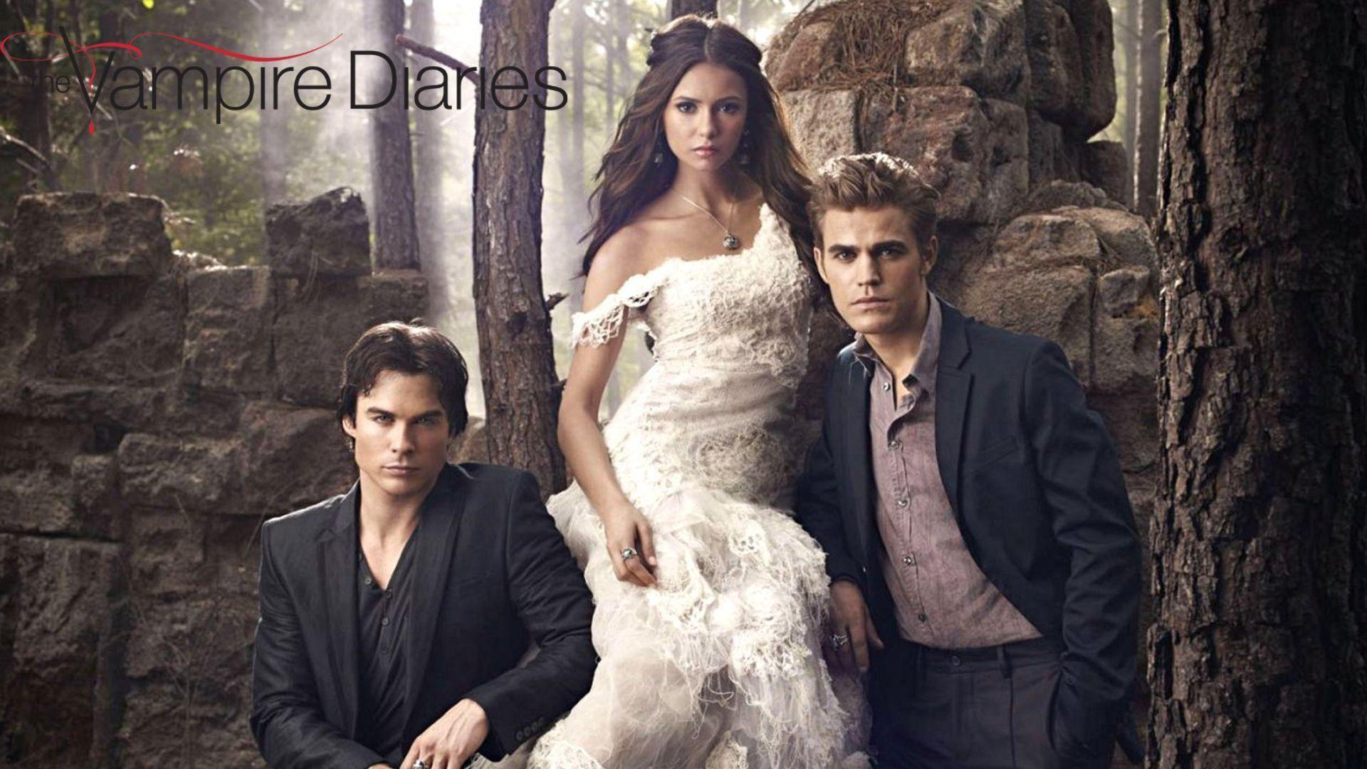 Wallpaper The Vampire Diaries
