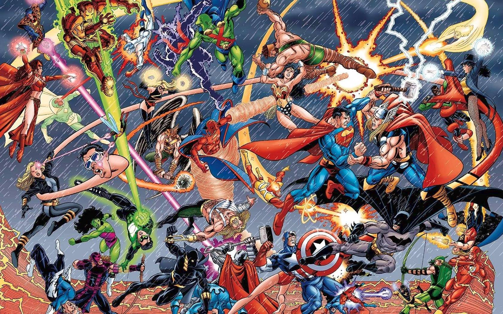 marvel dc wallpaper by - photo #4