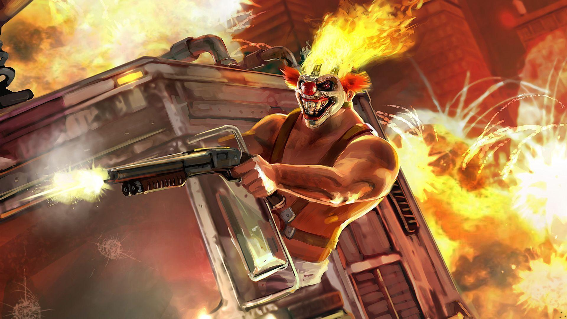 Twisted metal wallpapers wallpaper cave - Sweet tooth wallpaper twisted metal ...