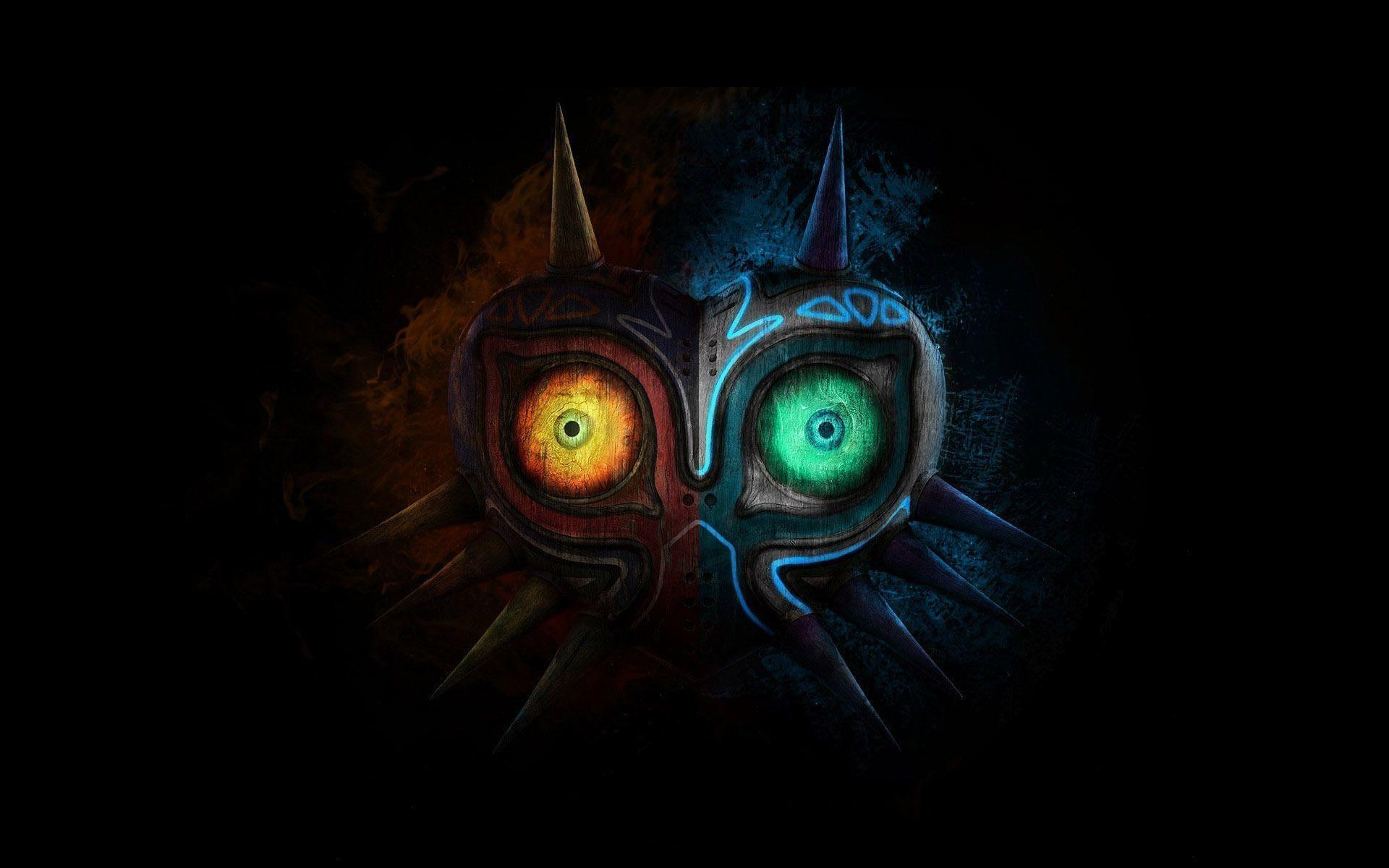 Hd wallpaper zelda - The Legend Of Zelda Majora Mask Full Hd Wallpaper Desktop Beraplan