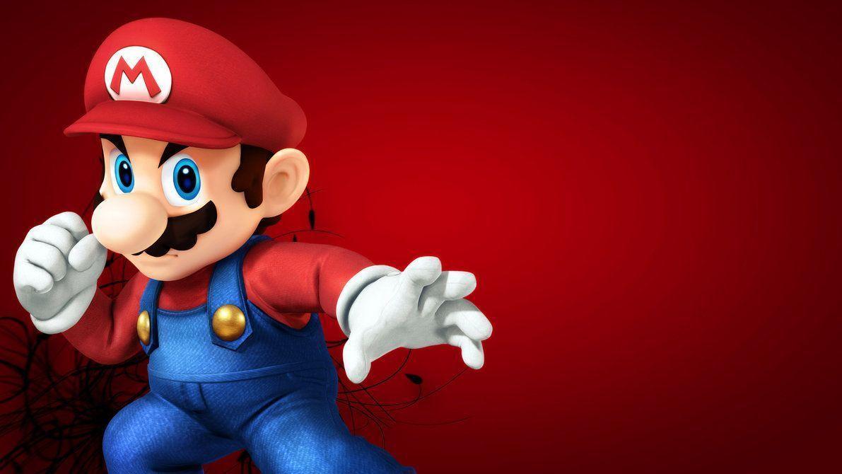 Super Smash Brother U Mario Wallpaper by Nolan989890 on DeviantArt